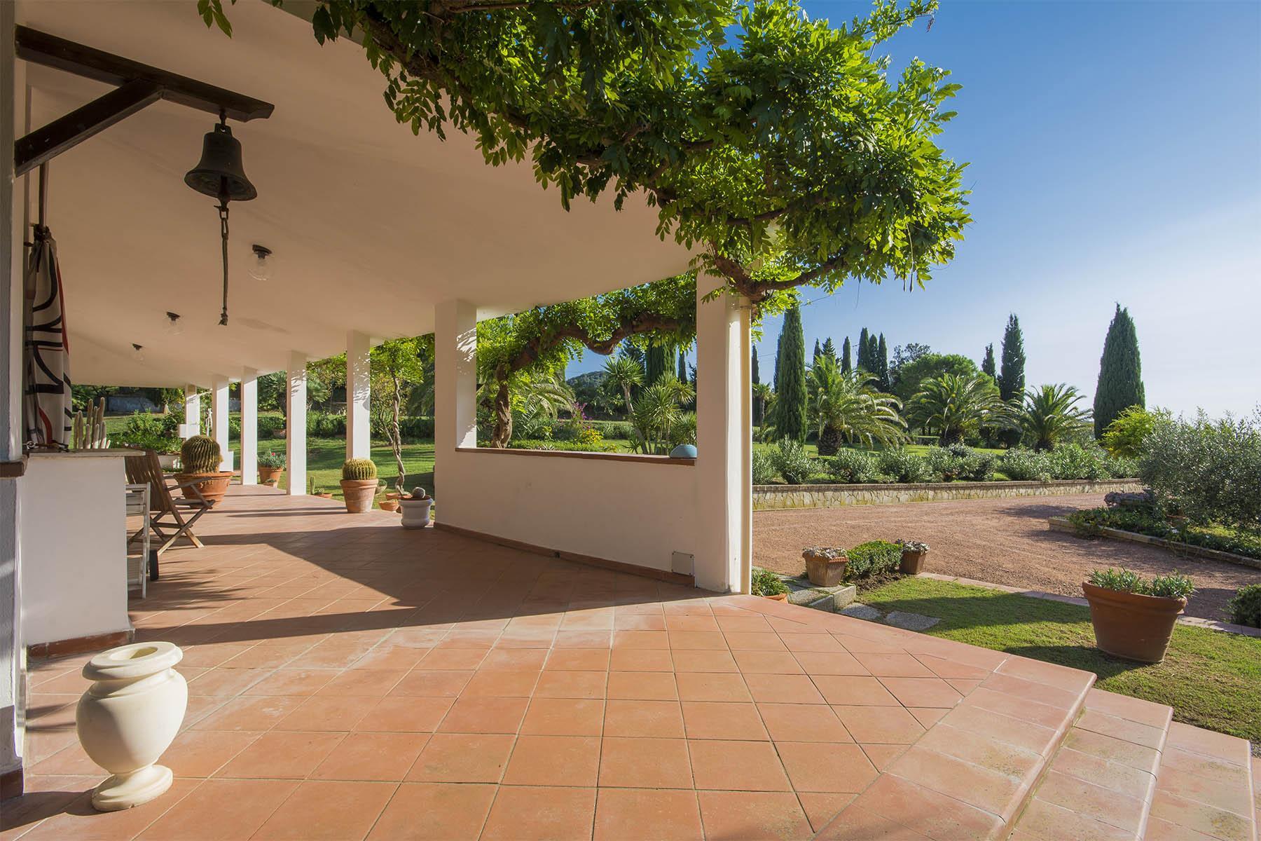 Villa in collina vista mare, nei pressi di Castiglioncello - 19