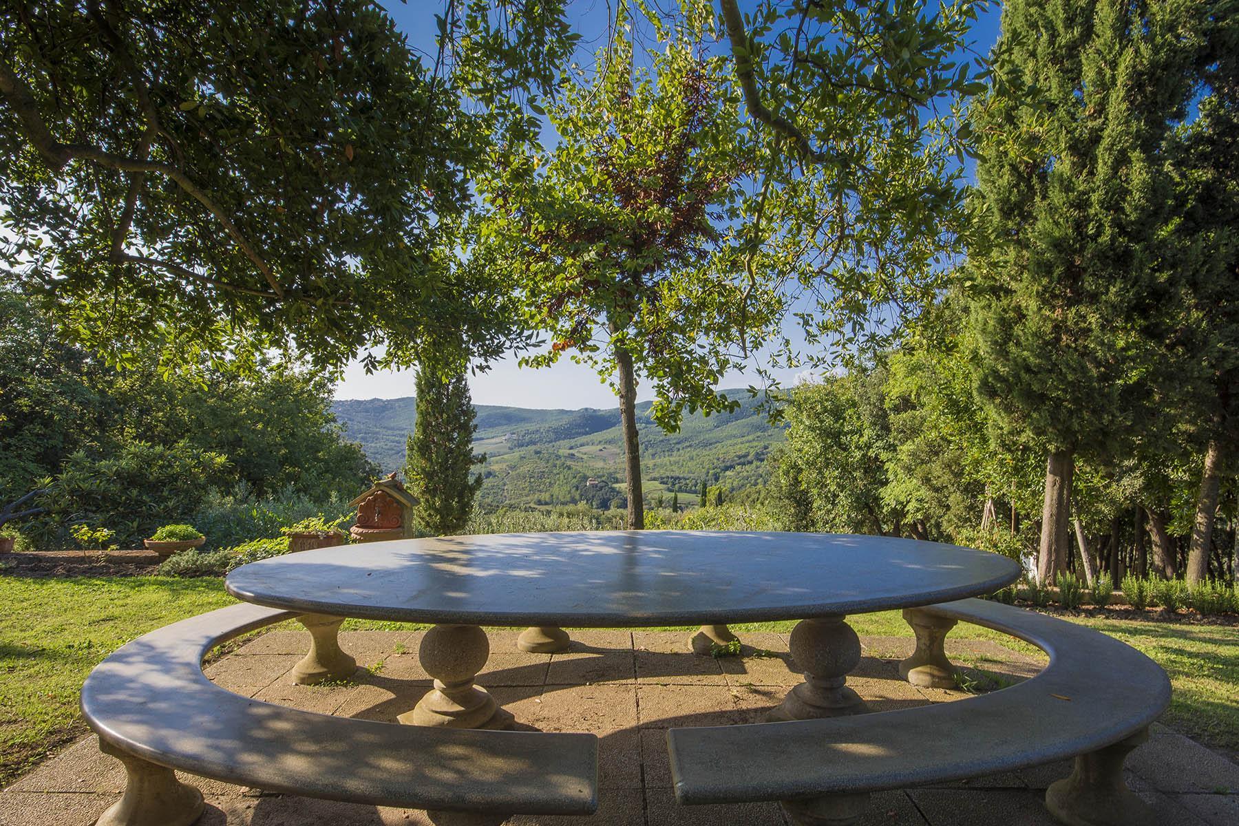 Villa in collina vista mare, nei pressi di Castiglioncello - 8