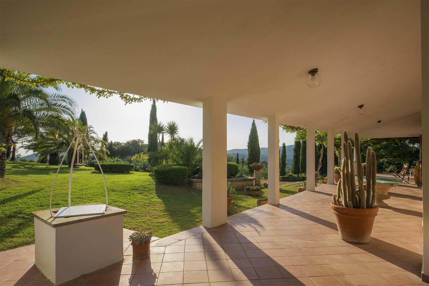 Villa in collina vista mare, nei pressi di Castiglioncello - 20