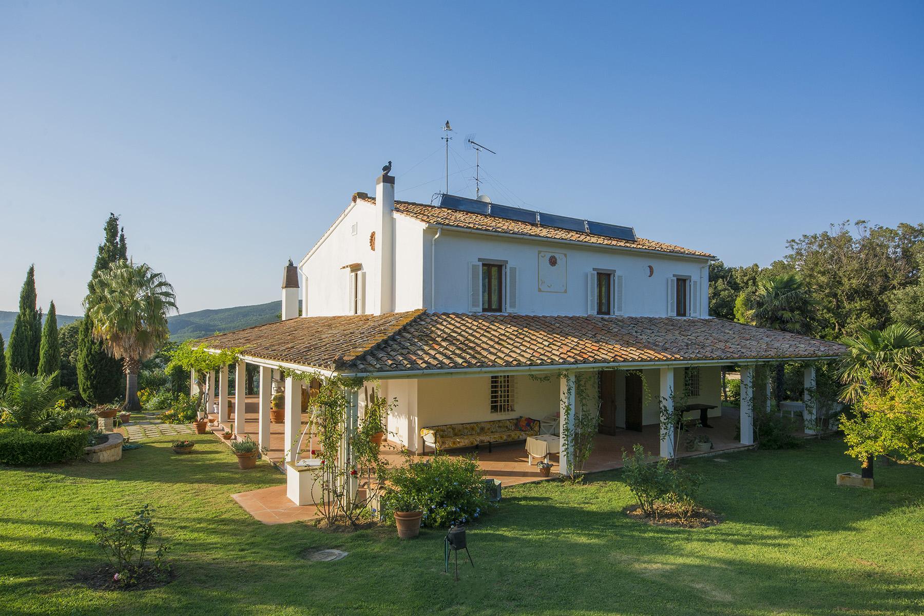 Villa in collina vista mare, nei pressi di Castiglioncello - 3
