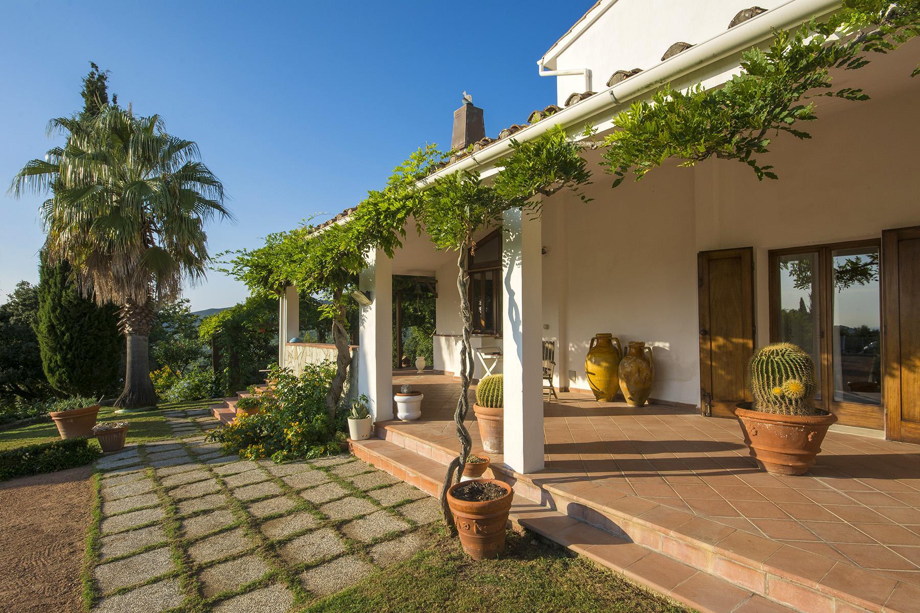 Villa in collina vista mare, nei pressi di Castiglioncello - 4