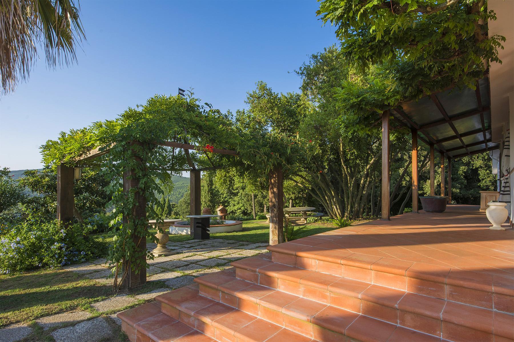 Villa in collina vista mare, nei pressi di Castiglioncello - 17
