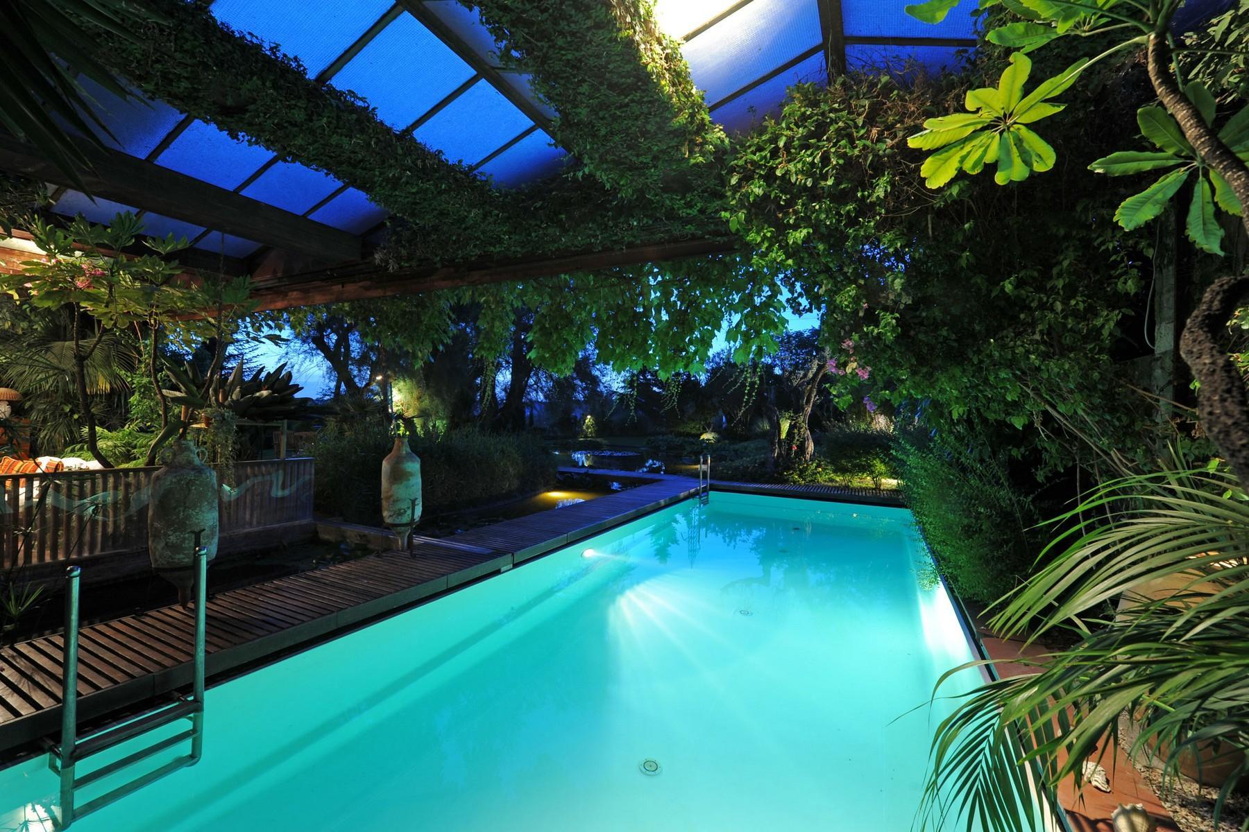 Superbe propriété avec jardin d'hiver, court de tennis et piscine - 7