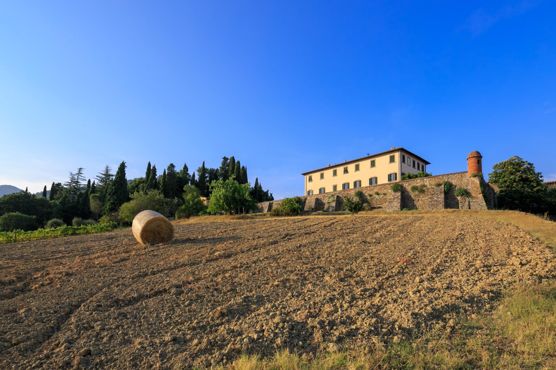 Herrliche Villa aus 1600 mit gepflanztem Park - 20