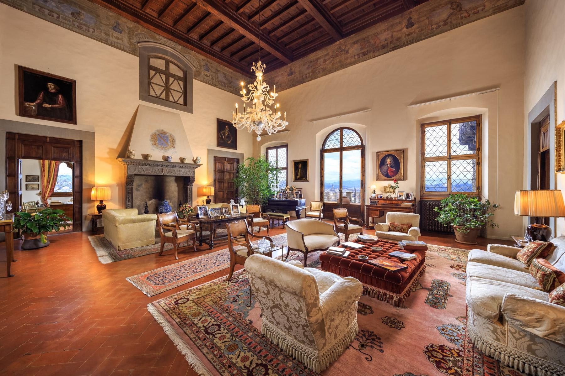 拥有令人叹为观止佛罗伦萨城市风光的别墅 - 3