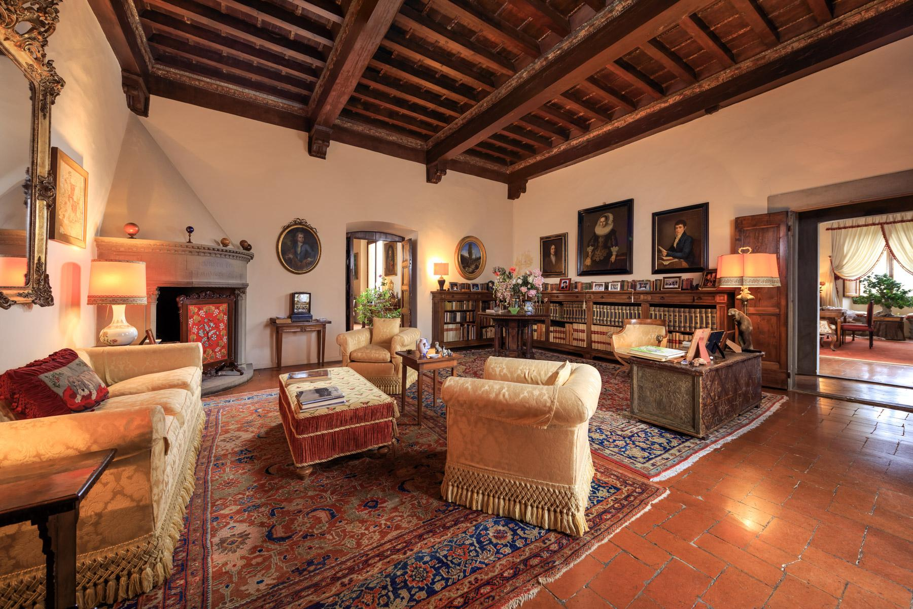 拥有令人叹为观止佛罗伦萨城市风光的别墅 - 5