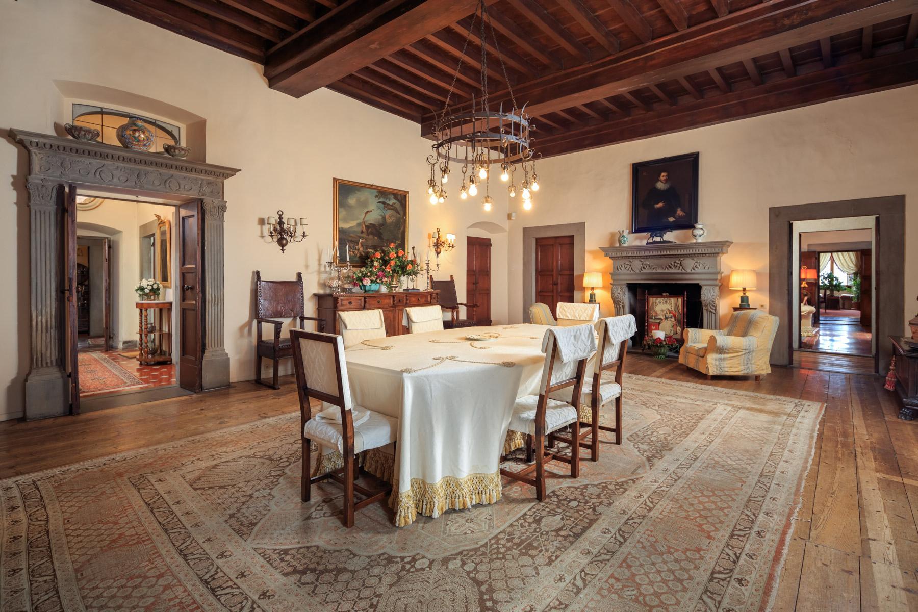 拥有令人叹为观止佛罗伦萨城市风光的别墅 - 7
