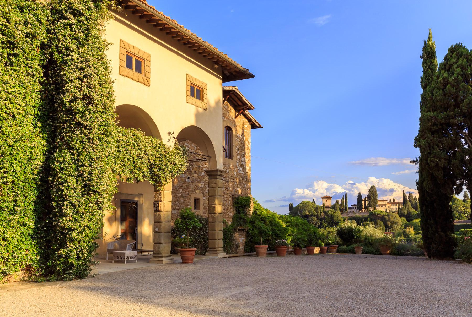 Wunderschöne Immobilien mit atemberaubendem Blick auf Florenz - 22