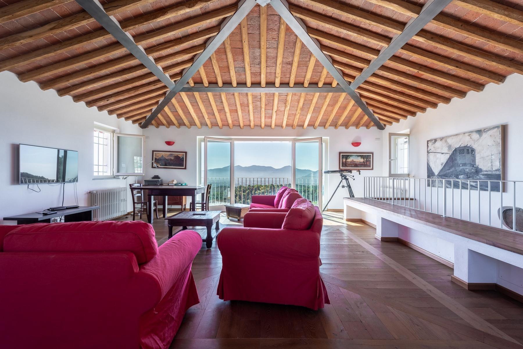 Lucca 山丘之上拥有游泳池的壮观别墅 - 6