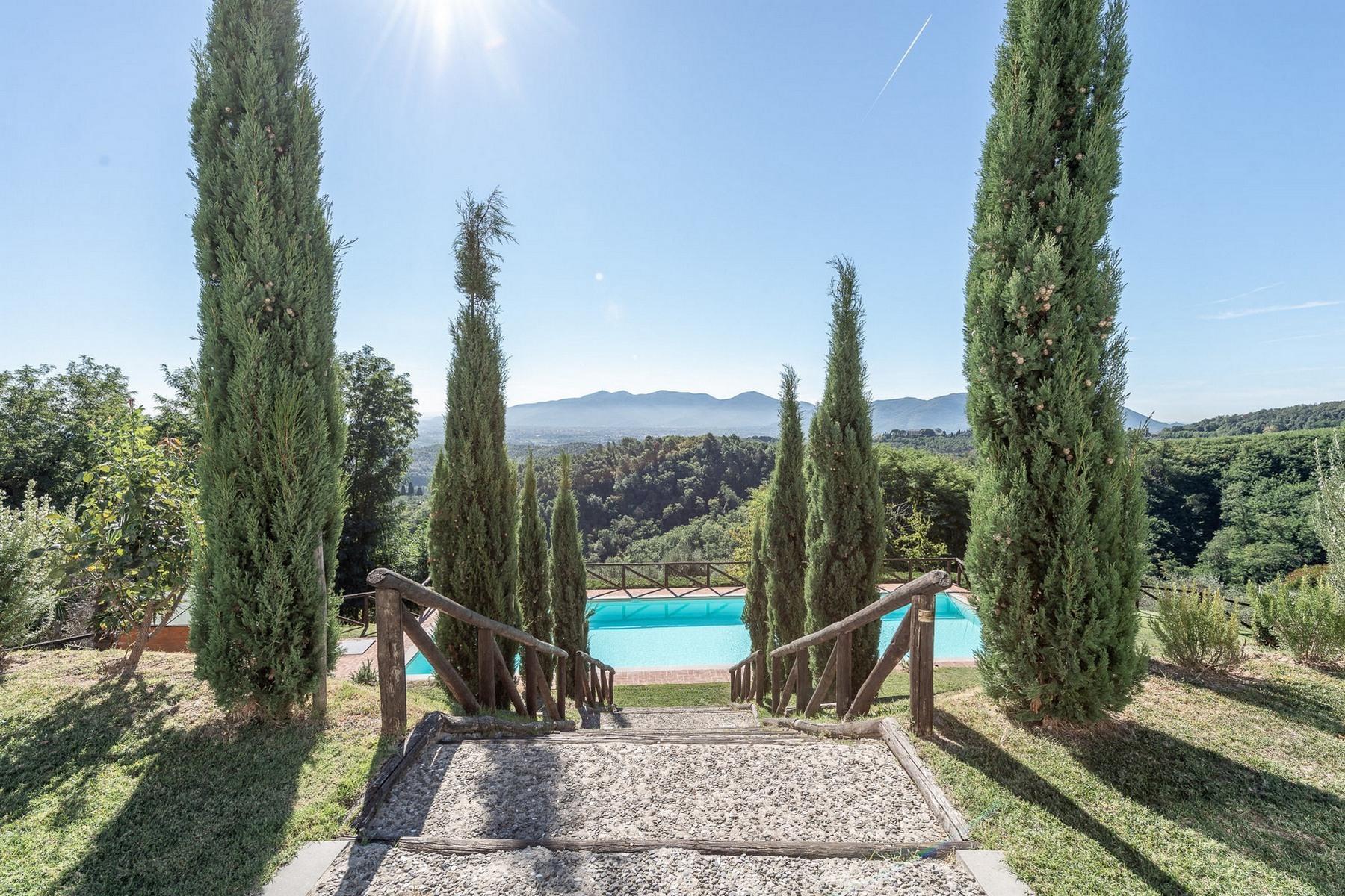 Meravigliosa villa con piscina sulle colline di Pieve Santo Stefano - 16