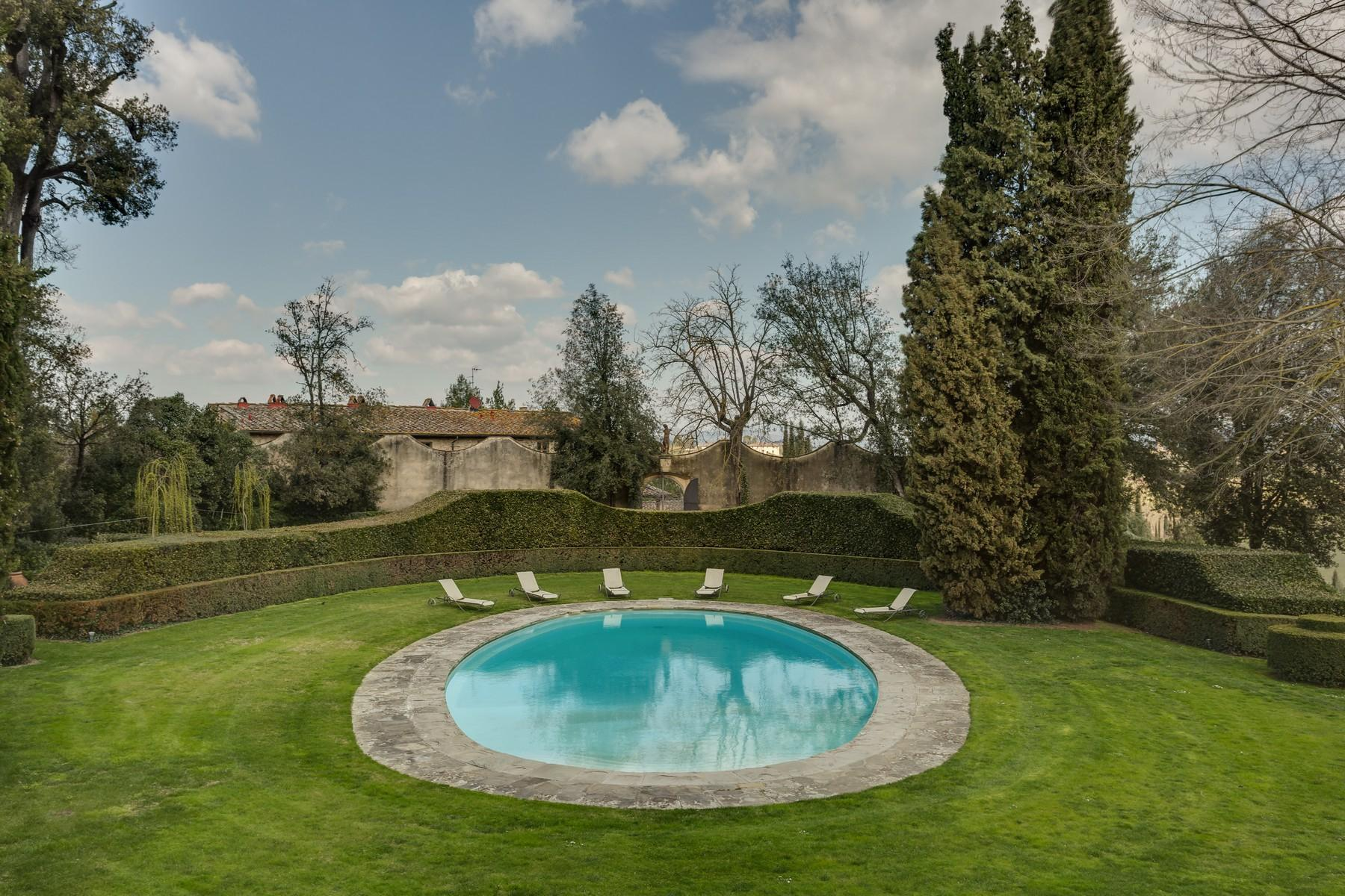 Marvellous Renaissance Villa with pool on the hills of Florence - 41