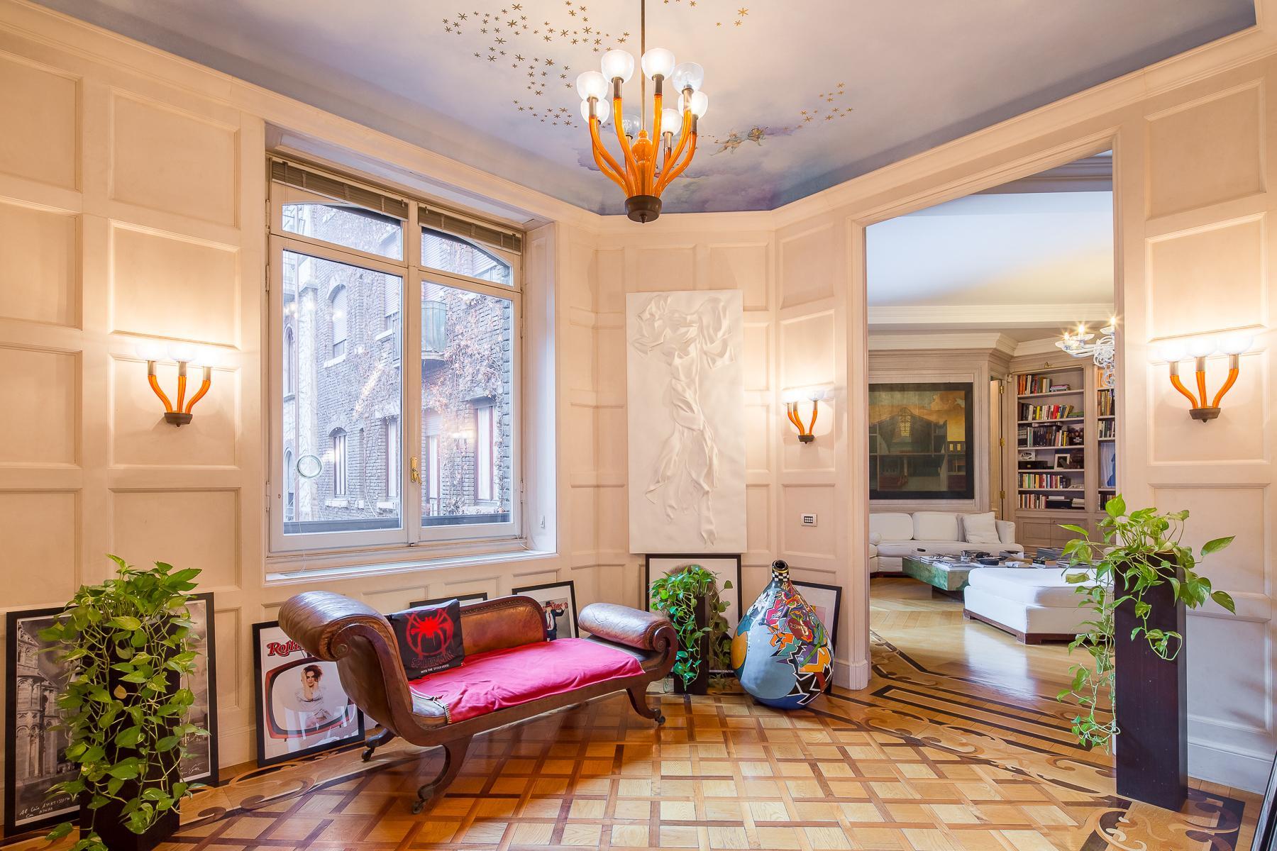 Elegante Wohnung im historischen Palast - 17