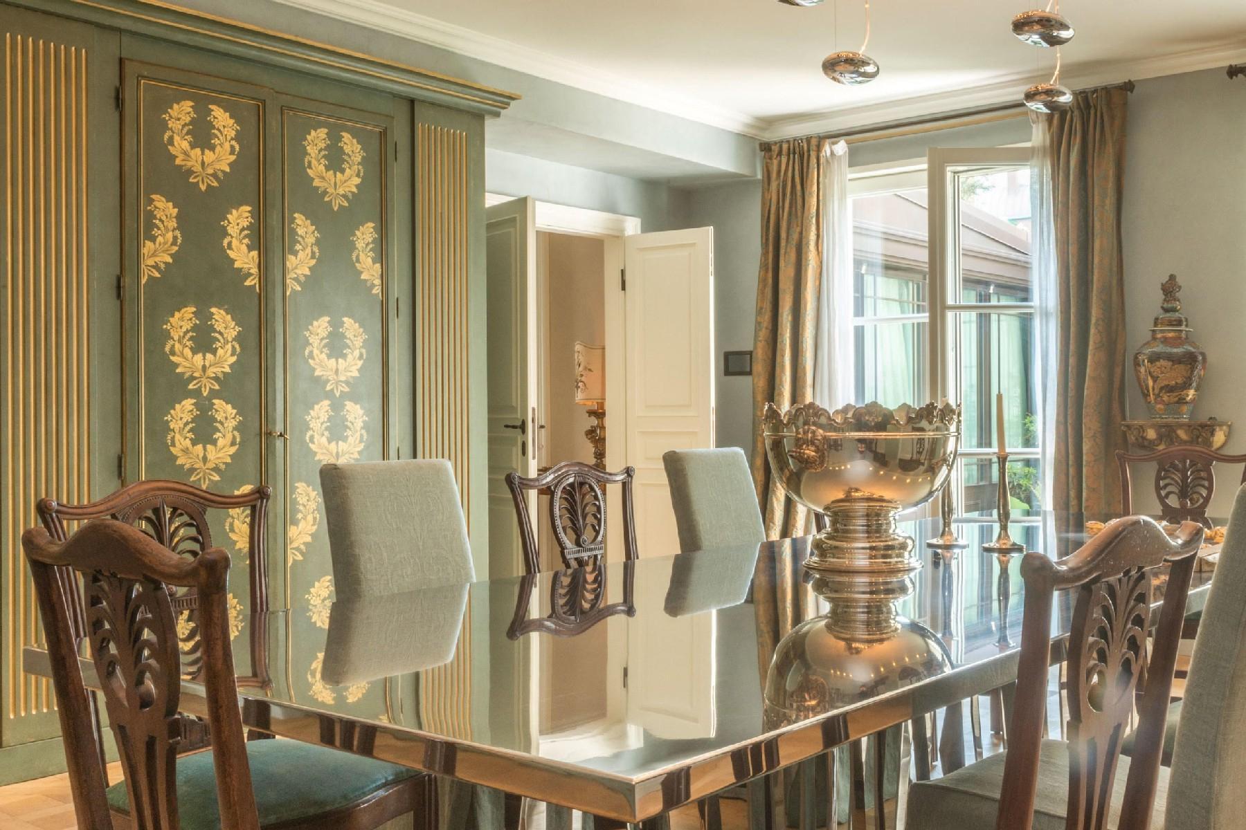 拥有私人花园和按摩浴缸,950平方米精美的公寓 - 6
