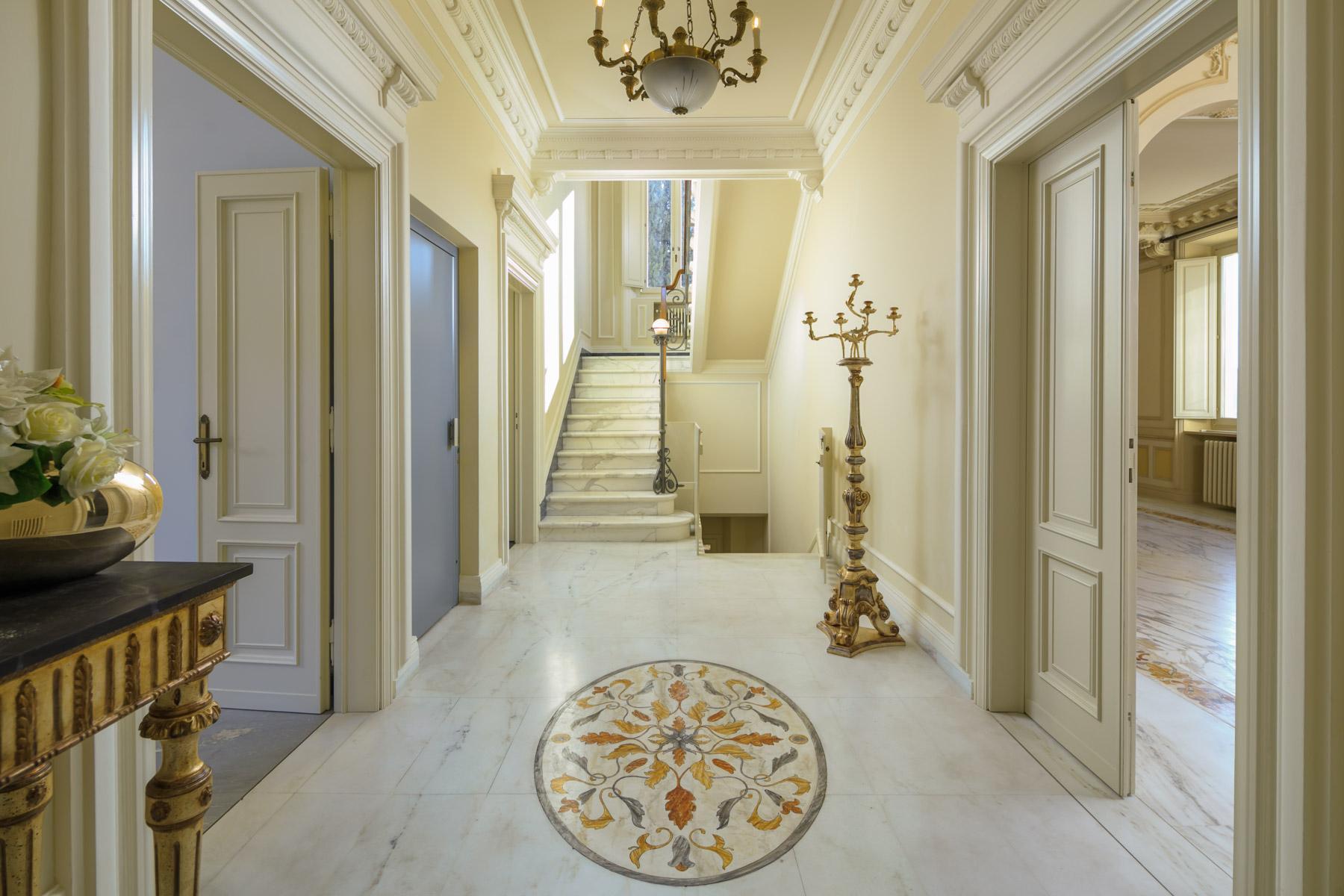 Montecatini Terme小镇优雅的新艺术风格的别墅 - 17