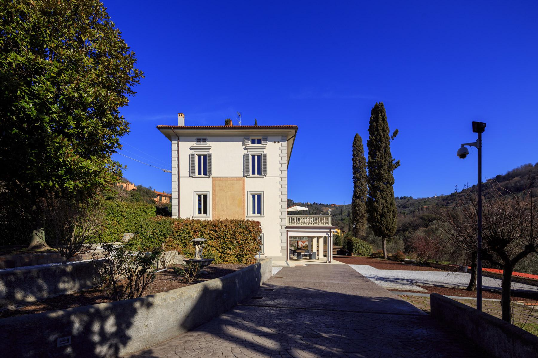 Montecatini Terme小镇优雅的新艺术风格的别墅 - 19