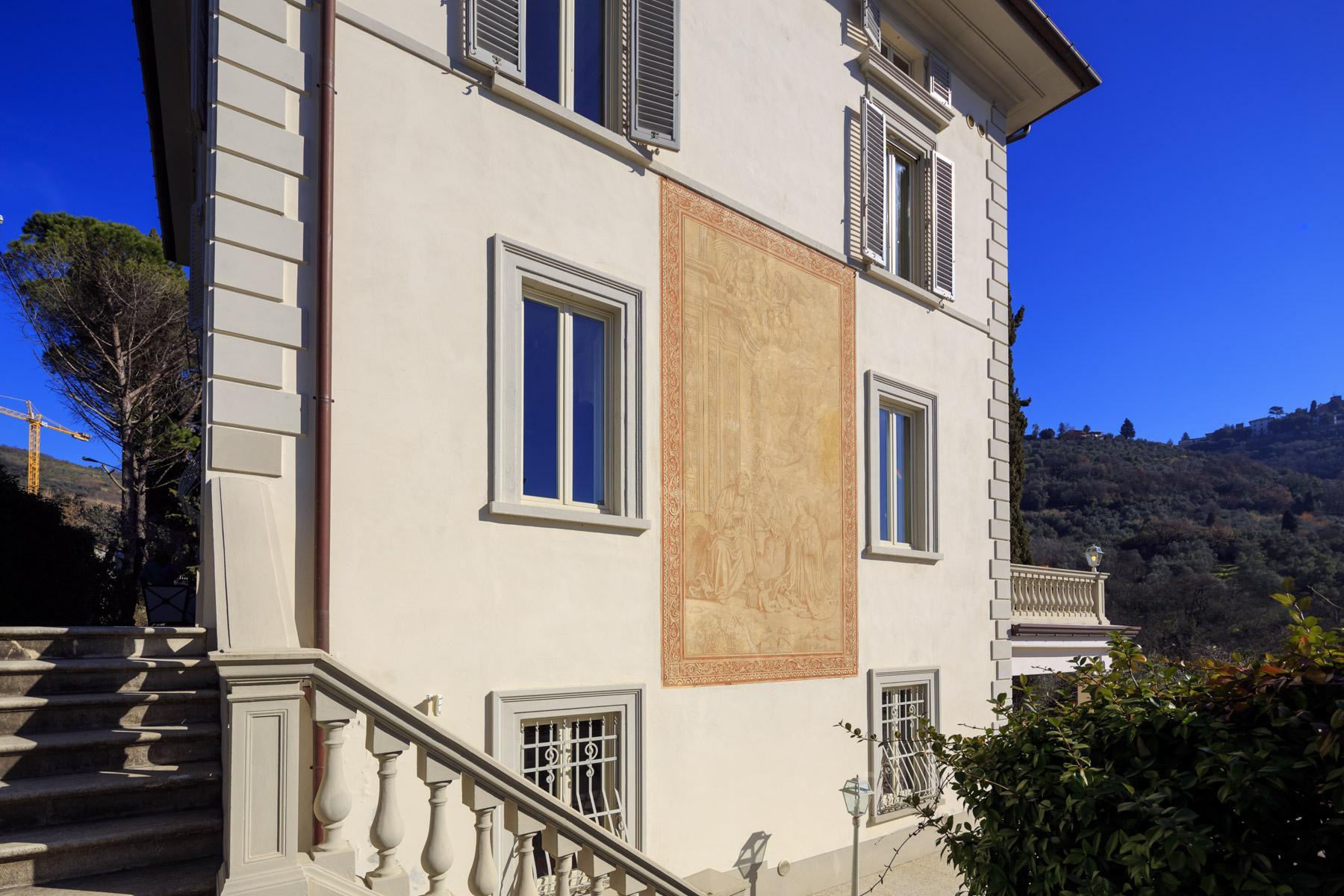 Montecatini Terme小镇优雅的新艺术风格的别墅 - 29