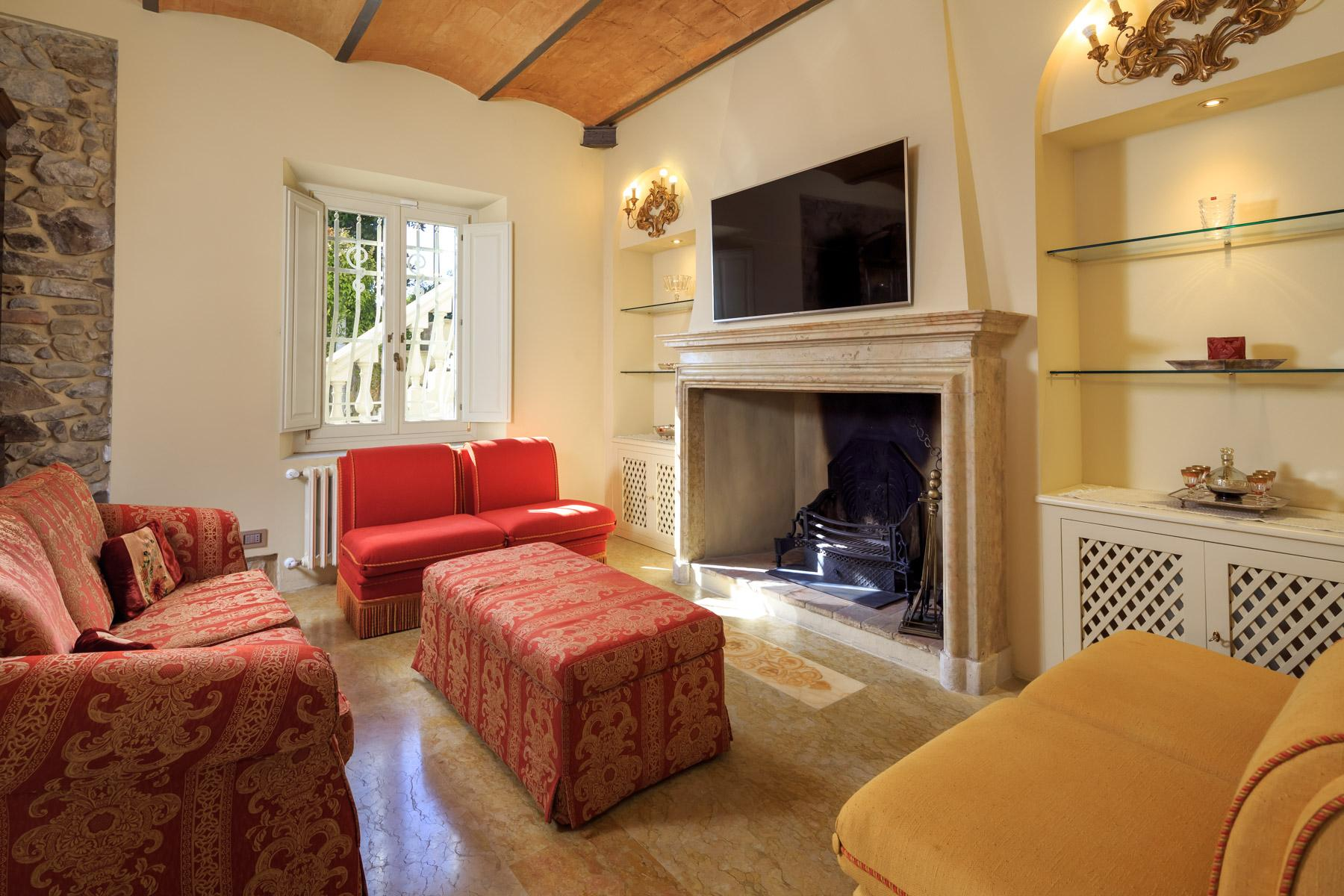 Montecatini Terme小镇优雅的新艺术风格的别墅 - 20