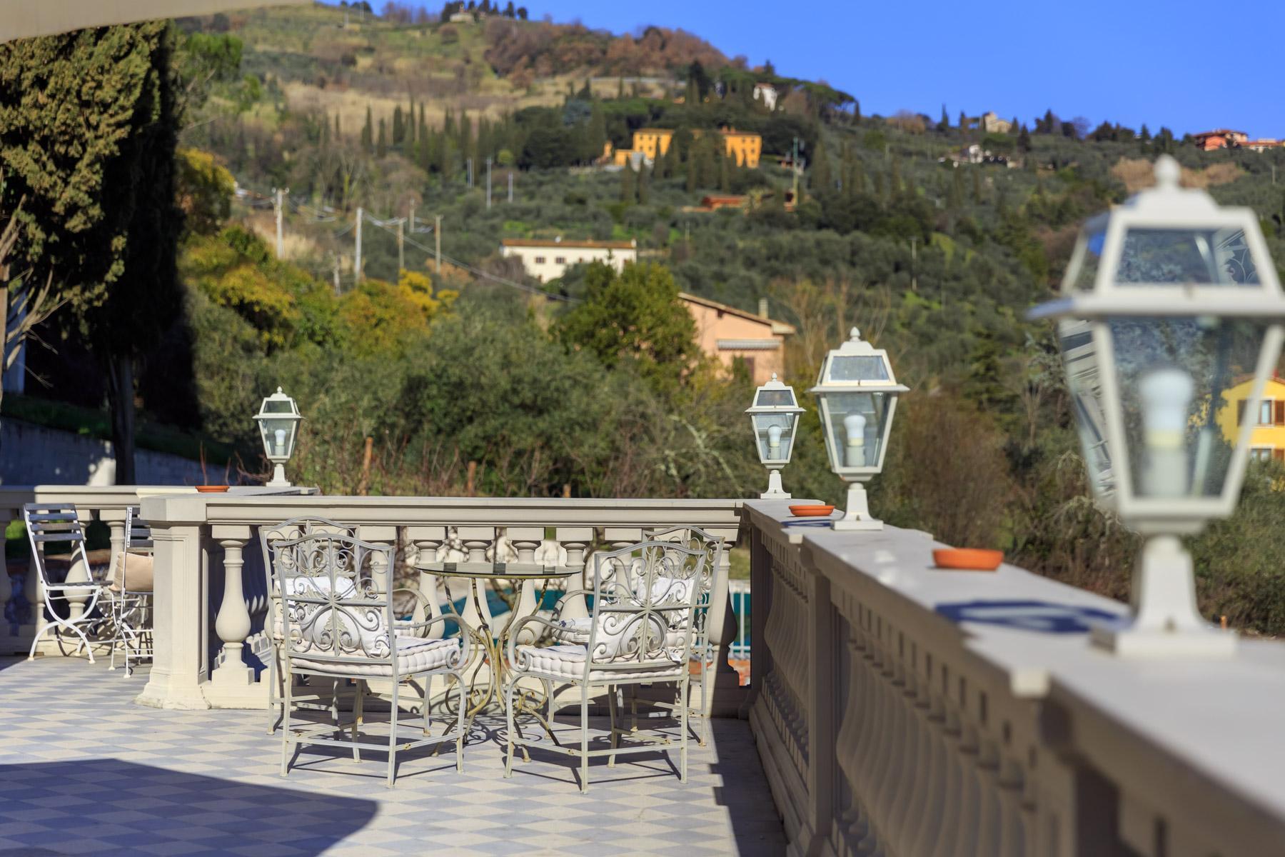 Montecatini Terme小镇优雅的新艺术风格的别墅 - 30
