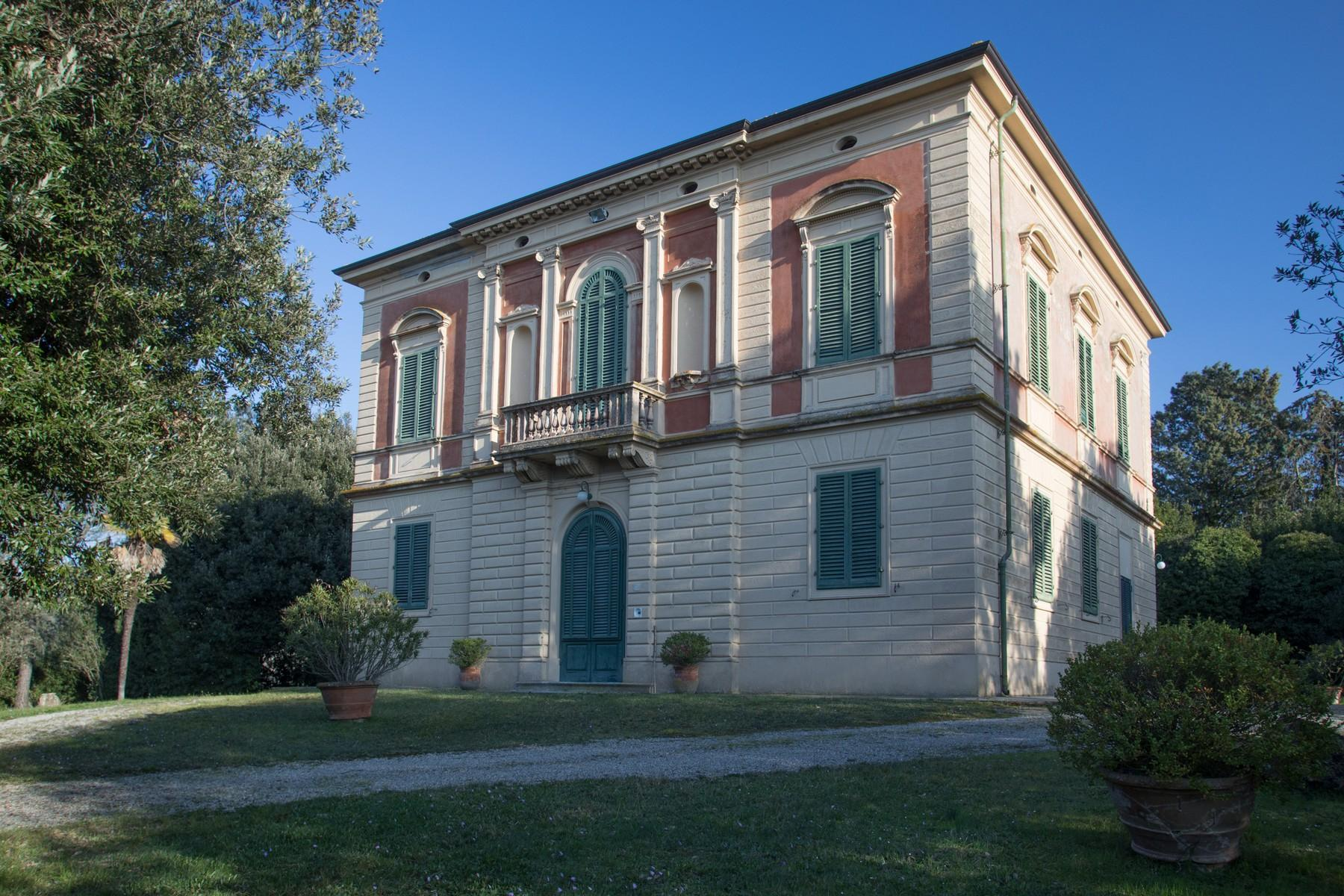 Elegant Historic Villa  in 23 Hectare Estate in the Province of Pisa. - 17