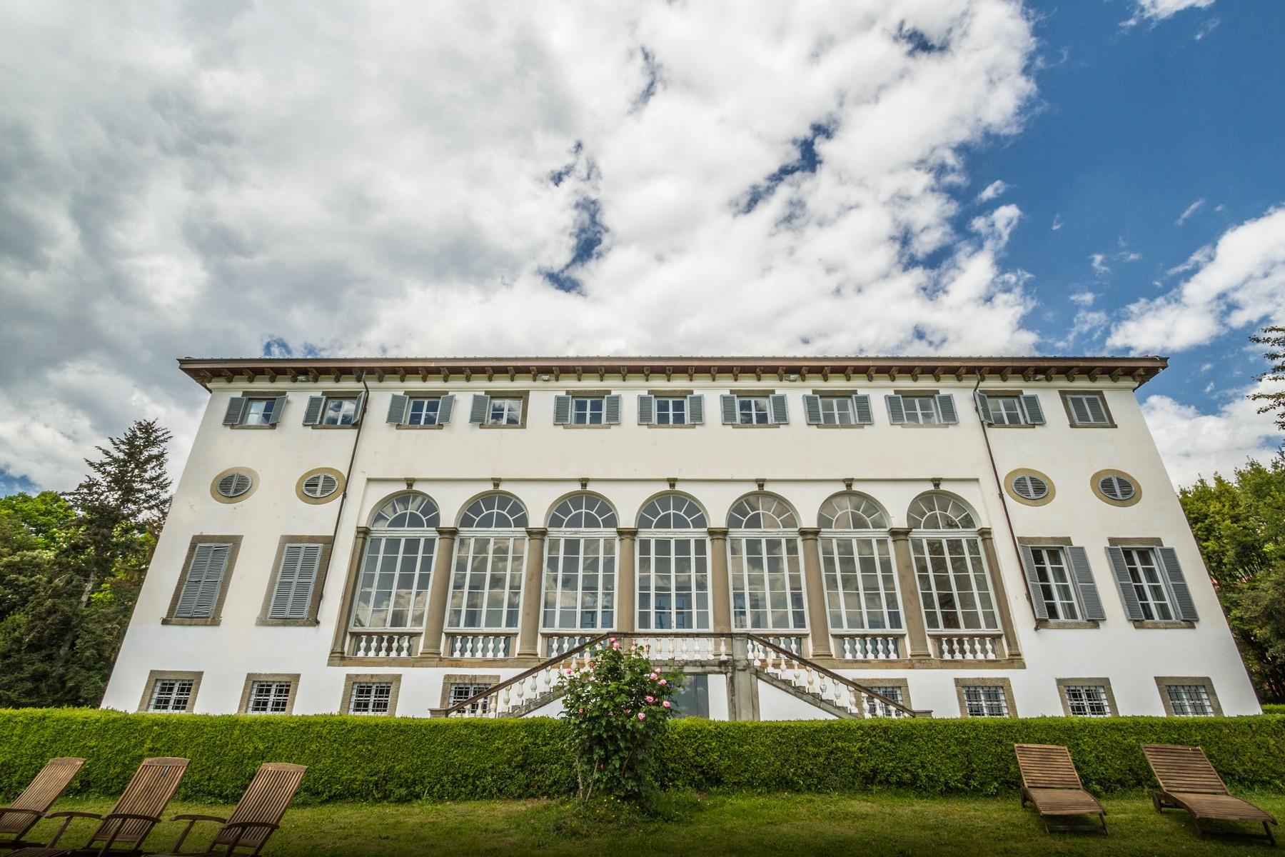 Luxury apartment in exclusive resort with historic villa on the  hills of Lucca - 13