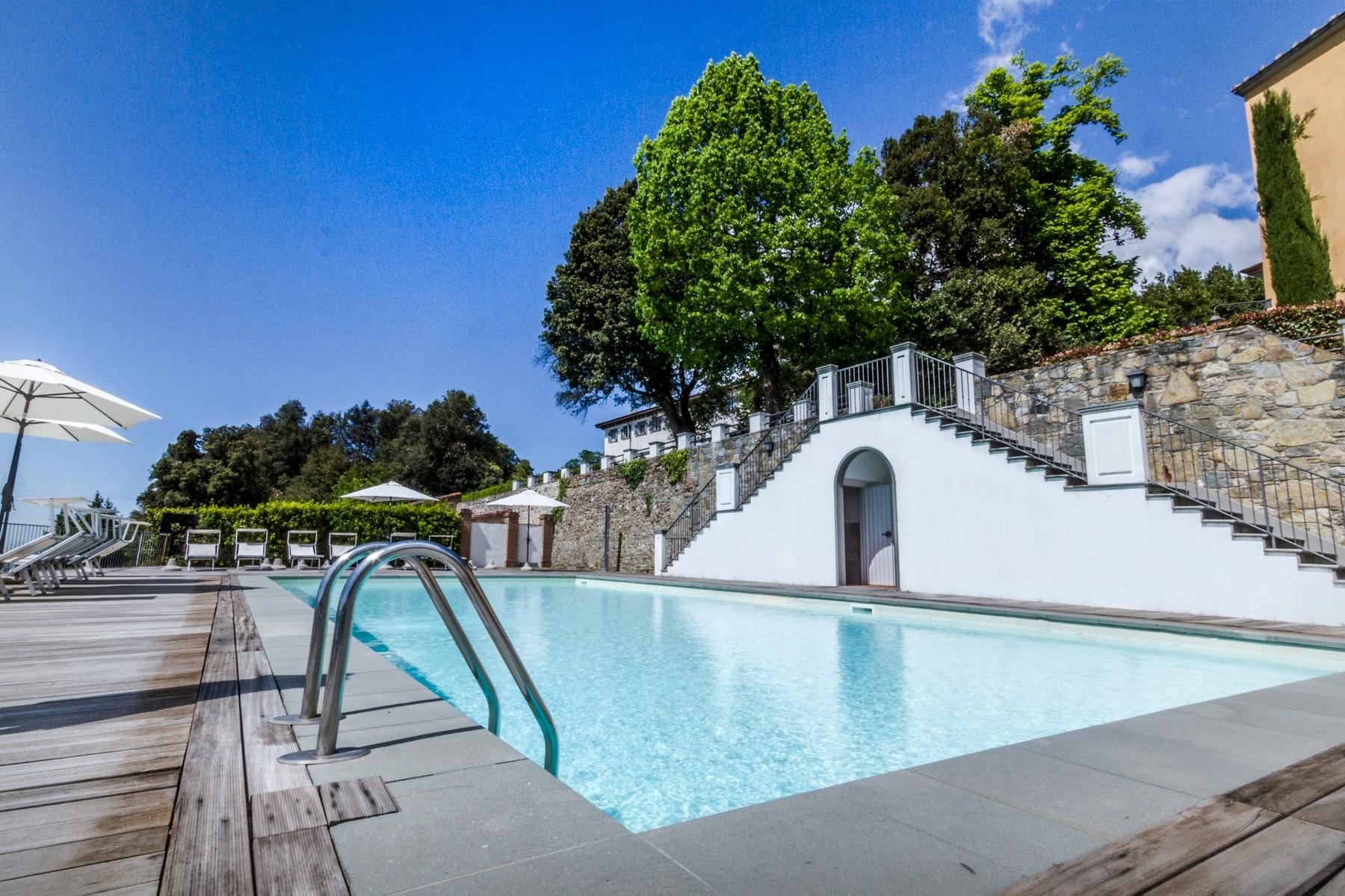 Luxury apartment in exclusive resort with historic villa on the  hills of Lucca - 10