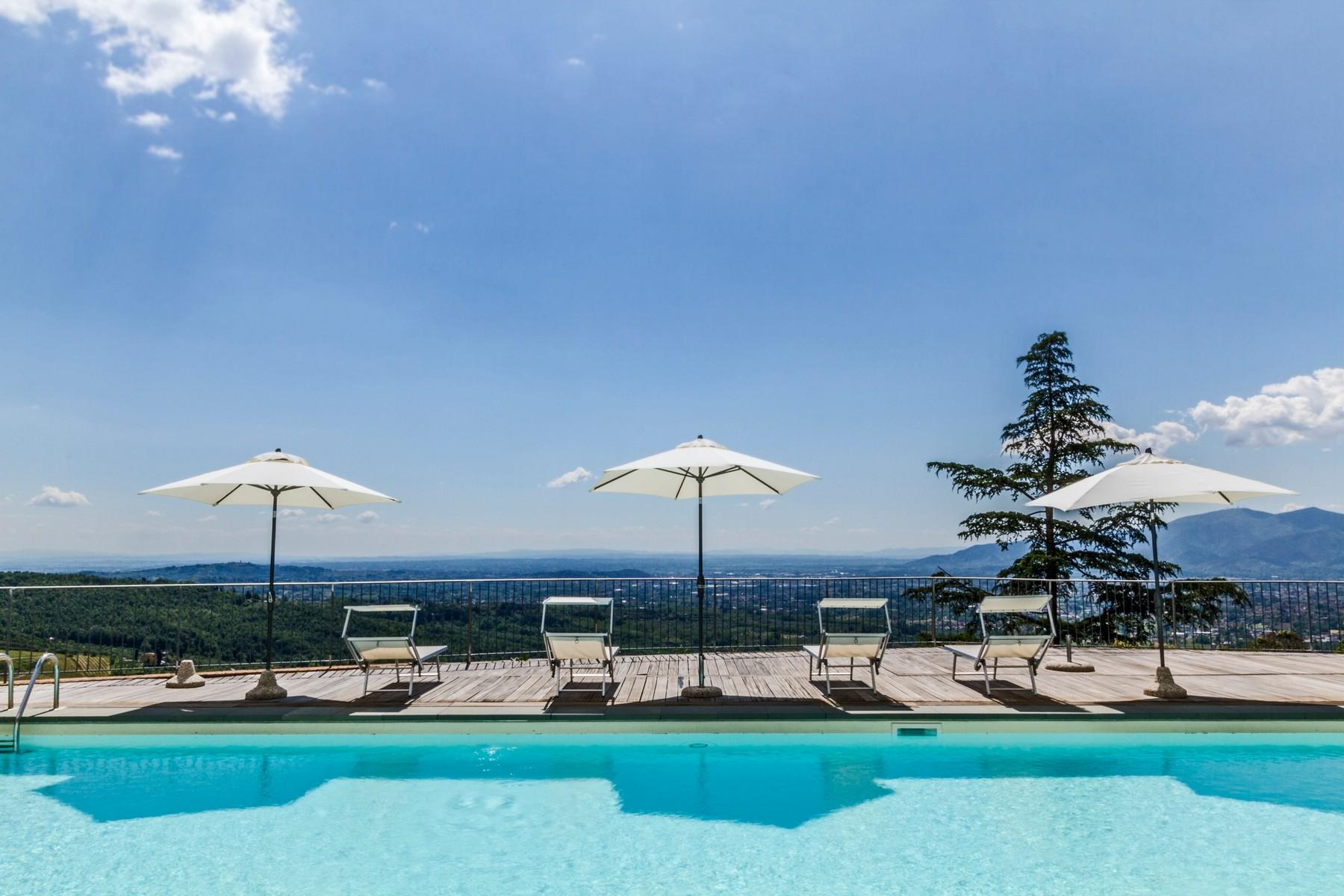 Luxury apartment in exclusive resort with historic villa on the  hills of Lucca - 15