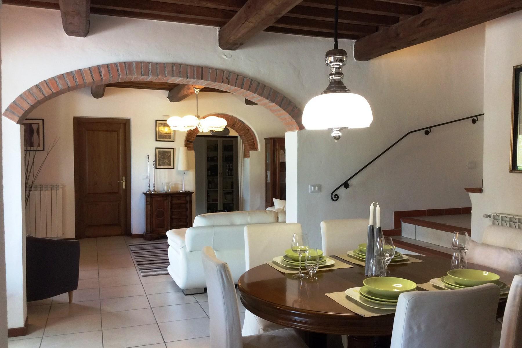 Toskanisches Bauernhaus mit Pool auf den ersten Hügeln von Pescia - 9
