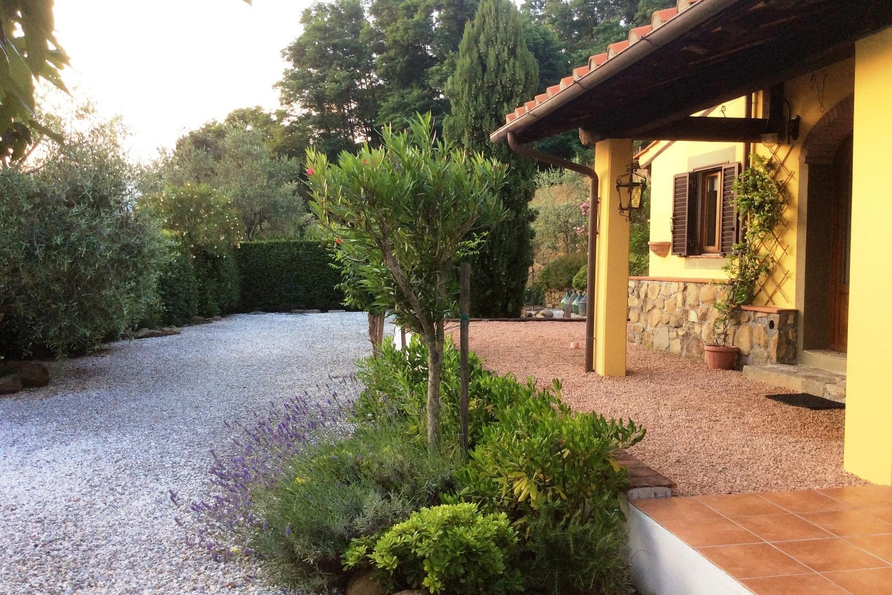 Toskanisches Bauernhaus mit Pool auf den ersten Hügeln von Pescia - 16