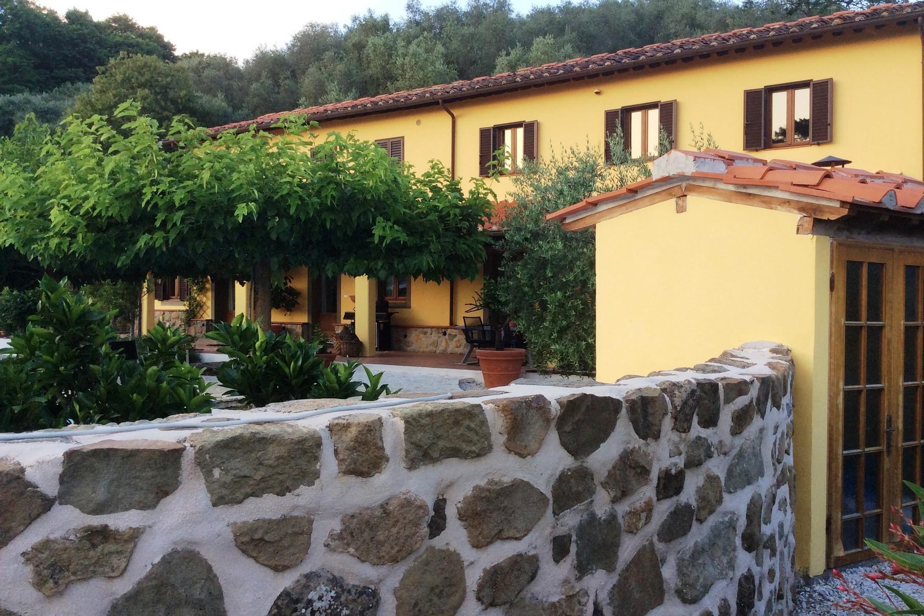 Toskanisches Bauernhaus mit Pool auf den ersten Hügeln von Pescia - 21