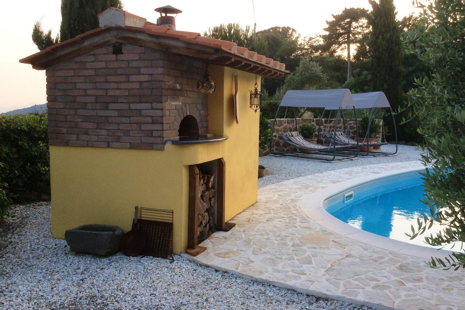 Toskanisches Bauernhaus mit Pool auf den ersten Hügeln von Pescia - 20