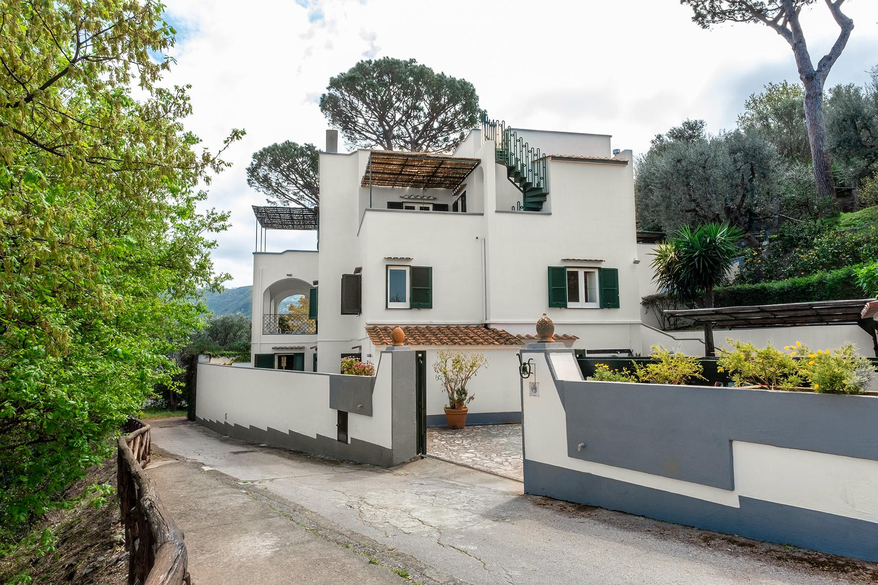 Panoramic property in the greenery in the heart of Sorrento - 13