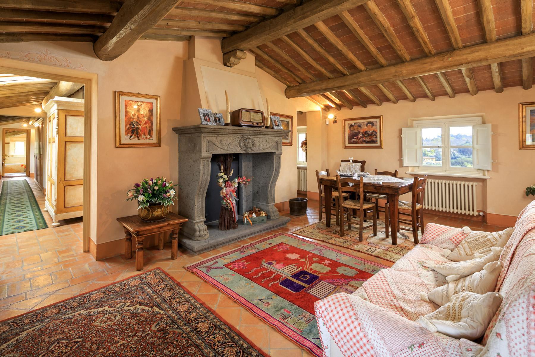 坐落于Lucca山丘之上源于17世纪的别墅 - 17
