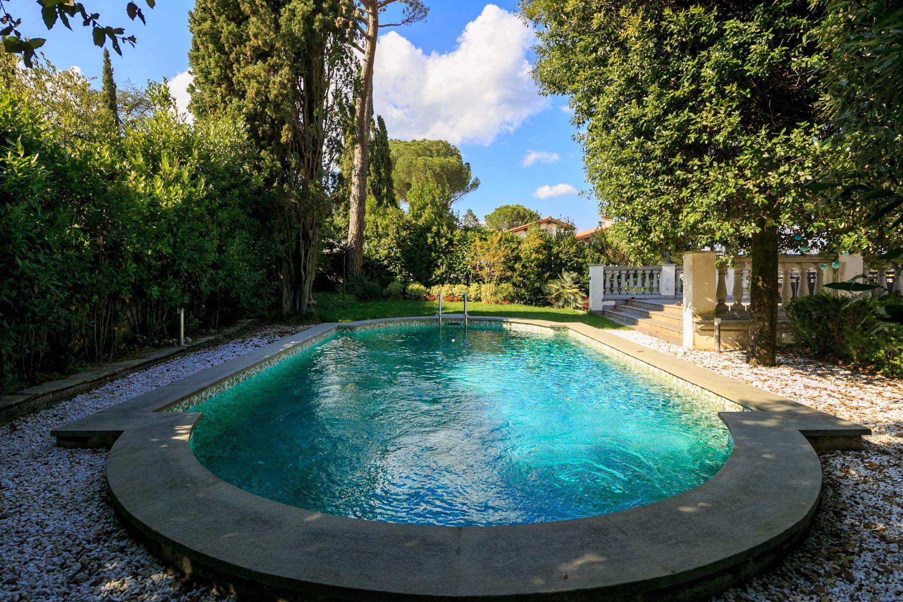 Splendida villa con piscina sulla collina di Pian dei Giullari a Firenze - 7