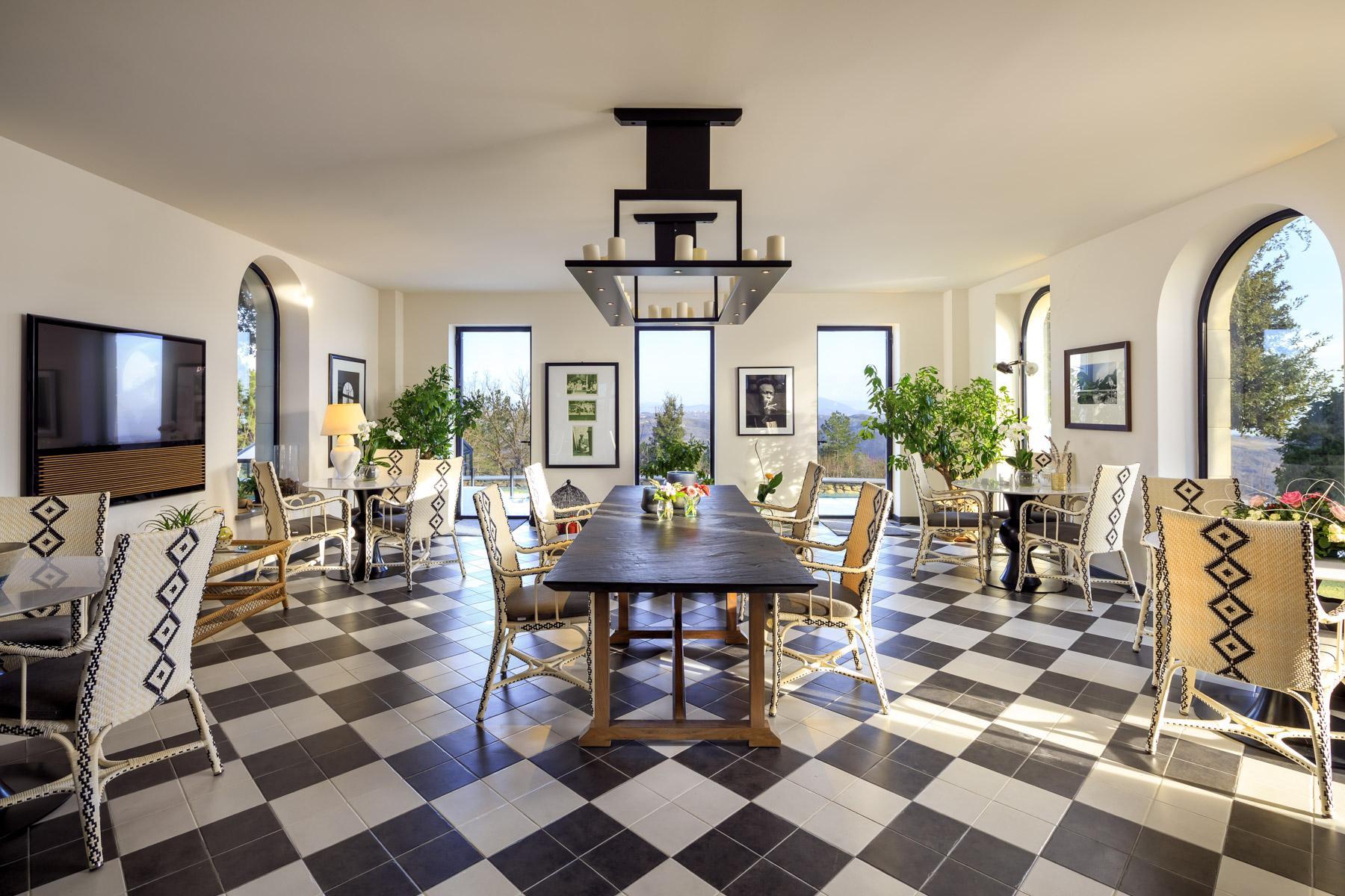 Prächtige Jugend-Stil Villa auf den Hügeln von Gubbio - 3