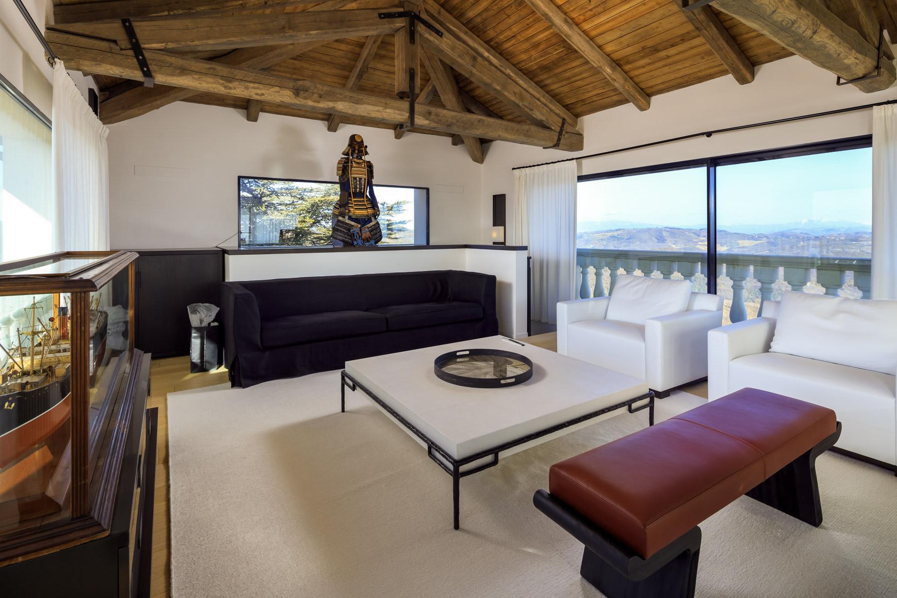 Maestosa villa liberty nelle colline di Gubbio - 9