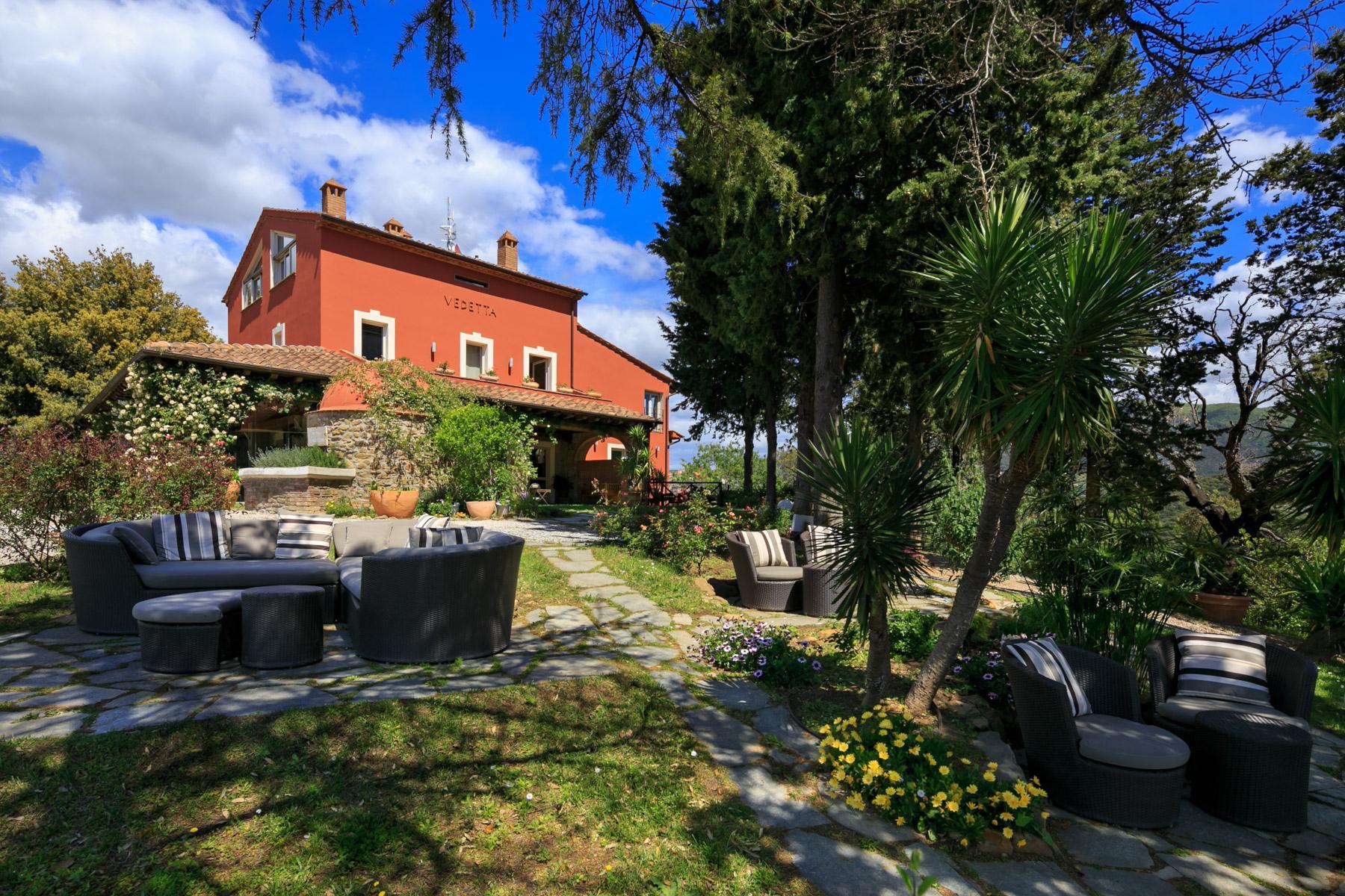 Villa historique avec vue imprenable sur le golfe de Scarlino - 1