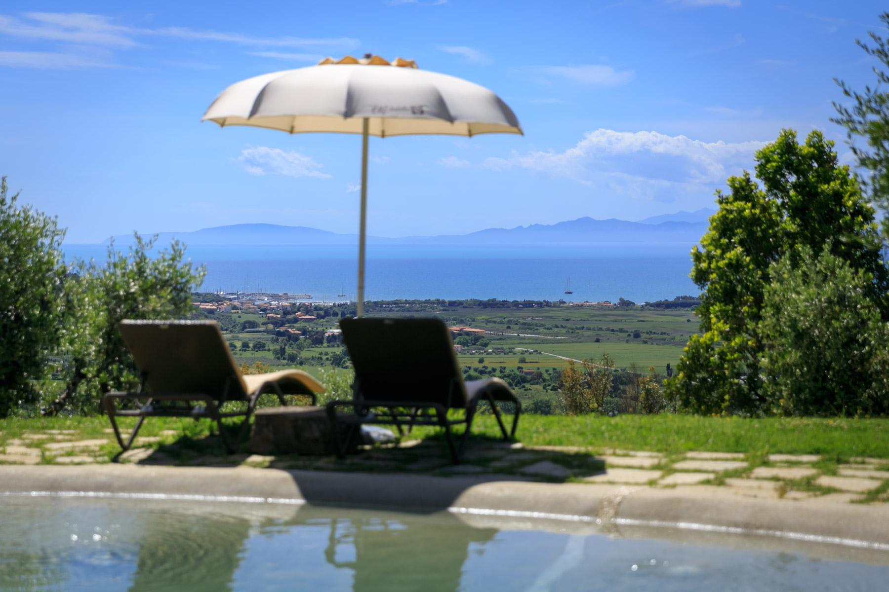Historic Villa with stunning views over the Gulf of Scarlino - 8