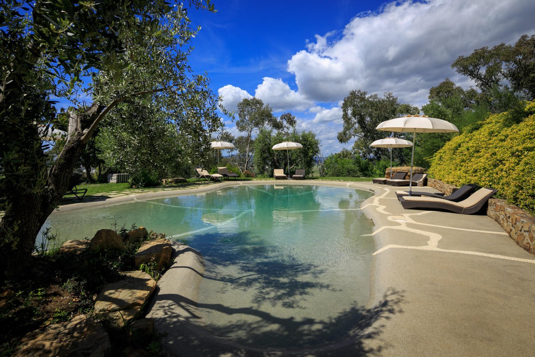 Luxus-Villa mit Blick auf den Golf Scarlino - 9