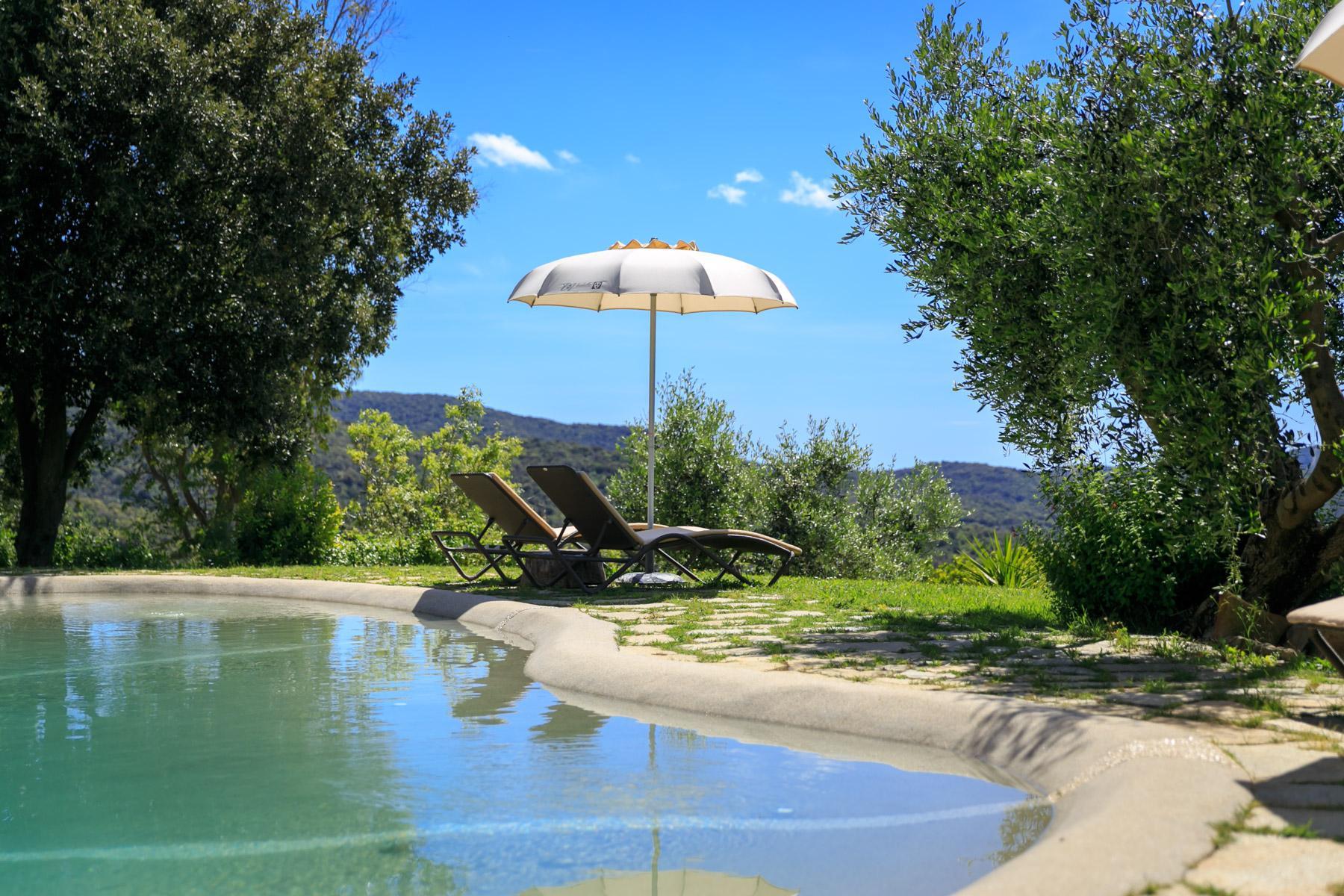 Luxus-Villa mit Blick auf den Golf Scarlino - 16
