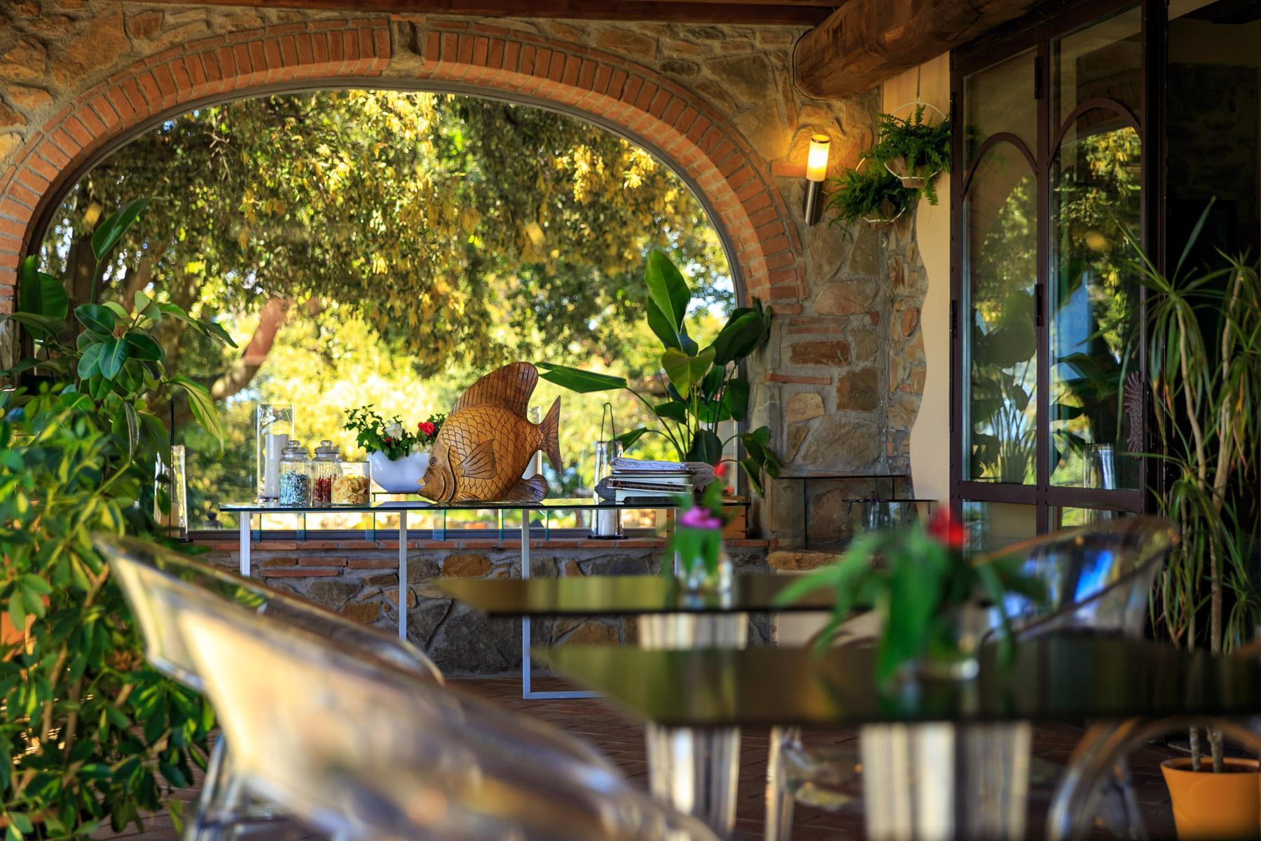 Luxus-Villa mit Blick auf den Golf Scarlino - 20
