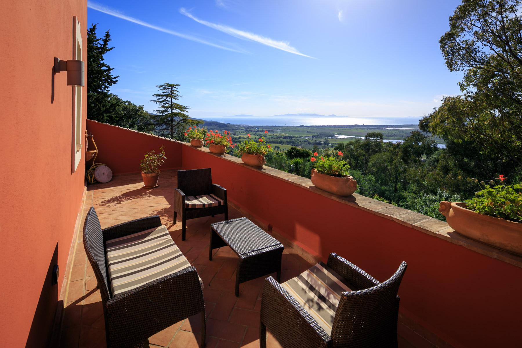 Historic Villa with stunning views over the Gulf of Scarlino - 29
