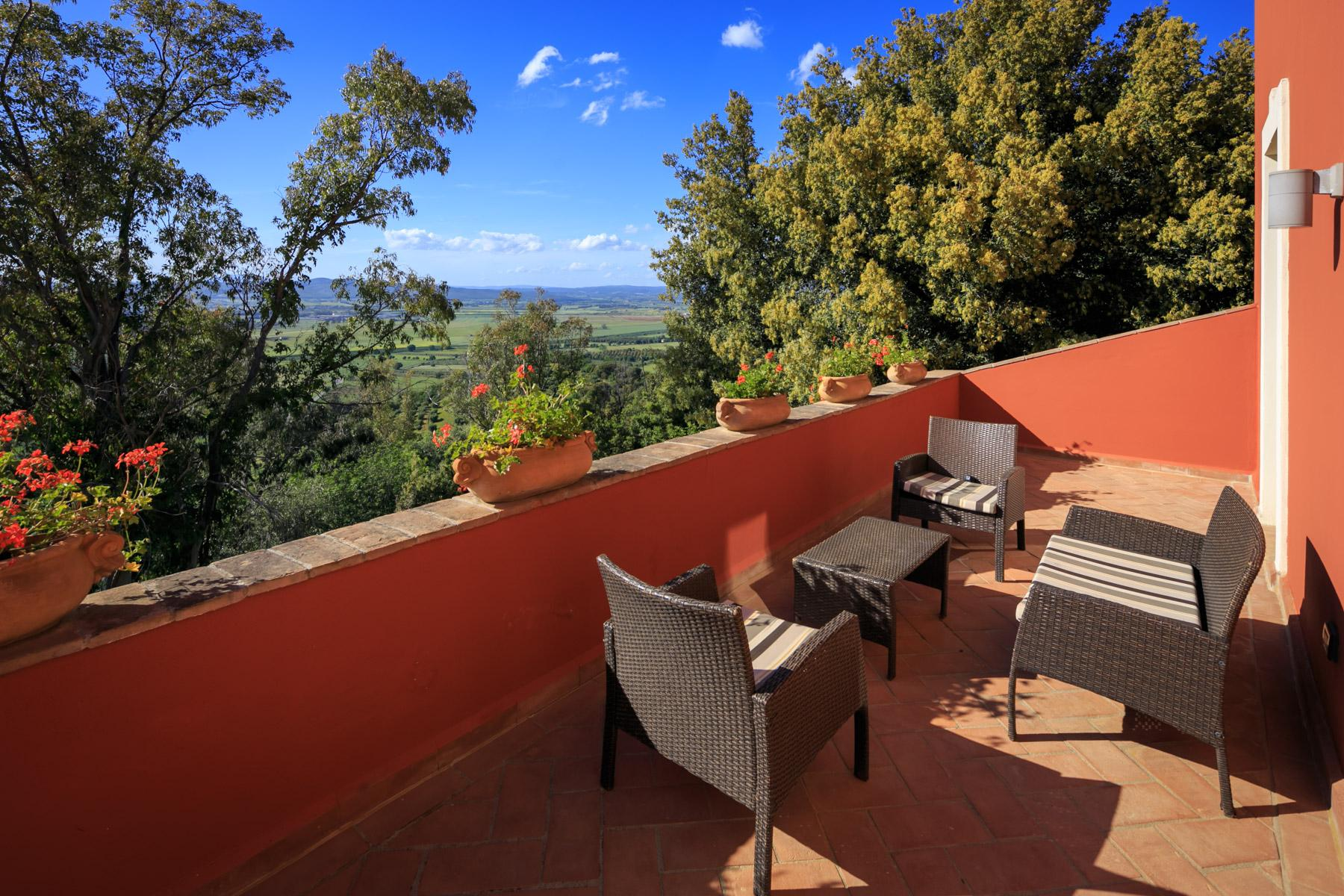 Historic Villa with stunning views over the Gulf of Scarlino - 30