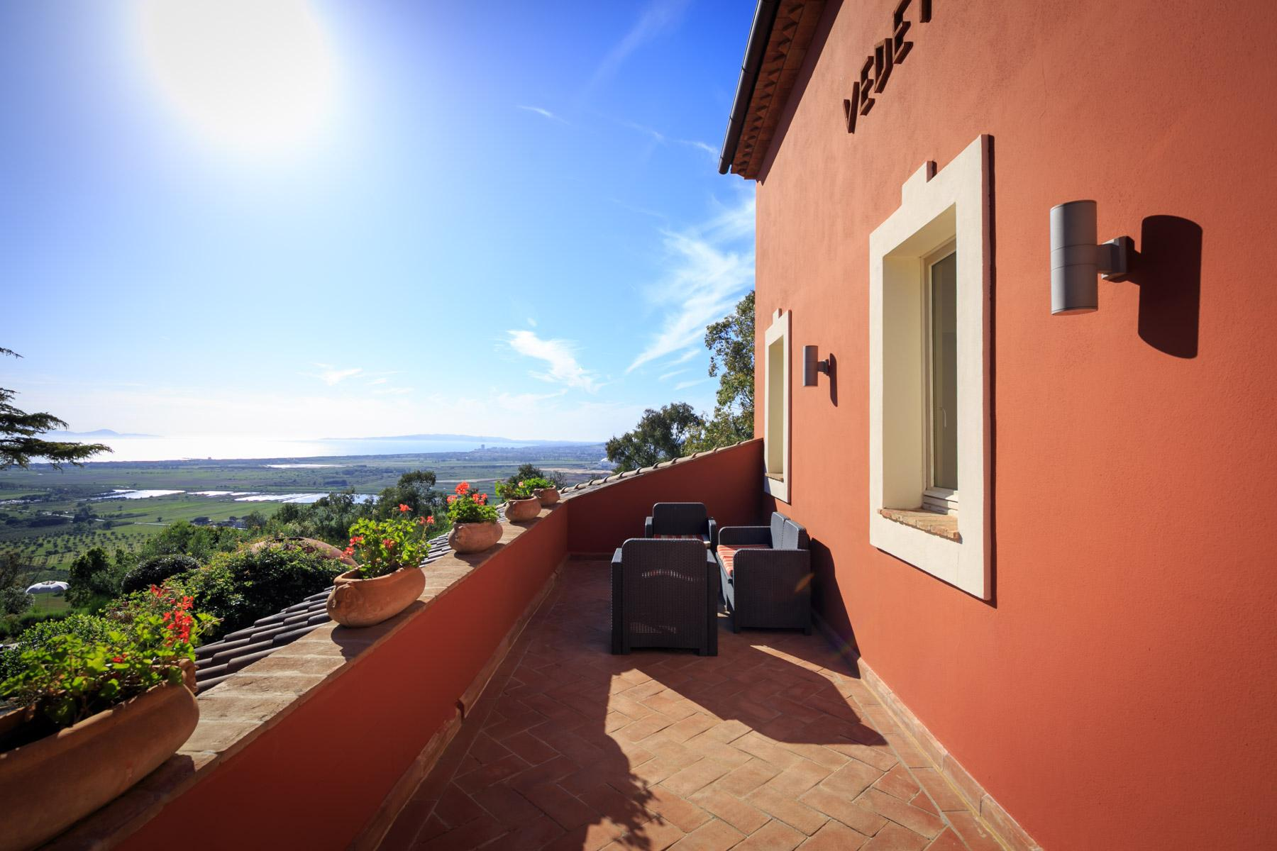 Historic Villa with stunning views over the Gulf of Scarlino - 33