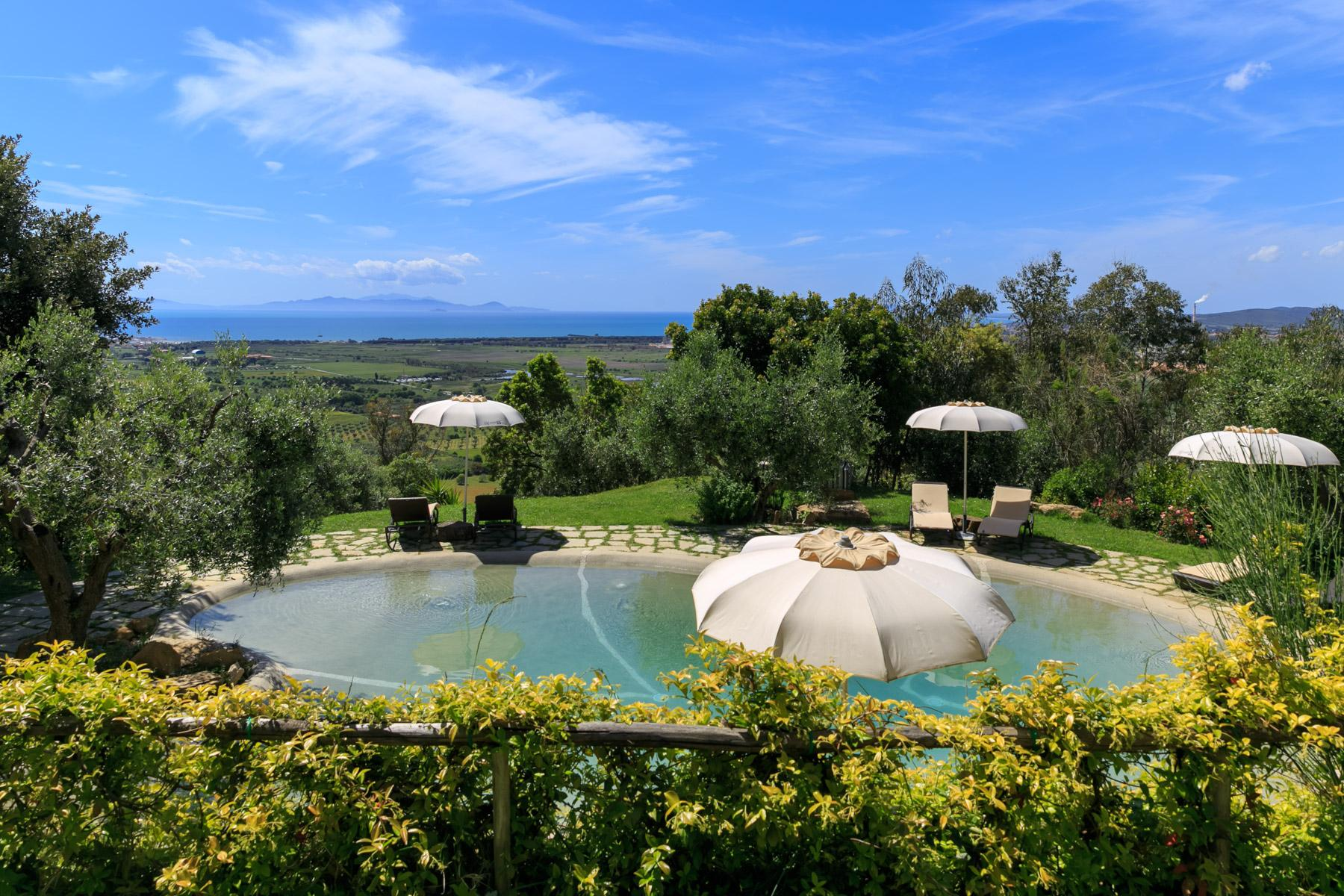 Villa and Estate with Pool overlooking the Scarlino Gulf - 9
