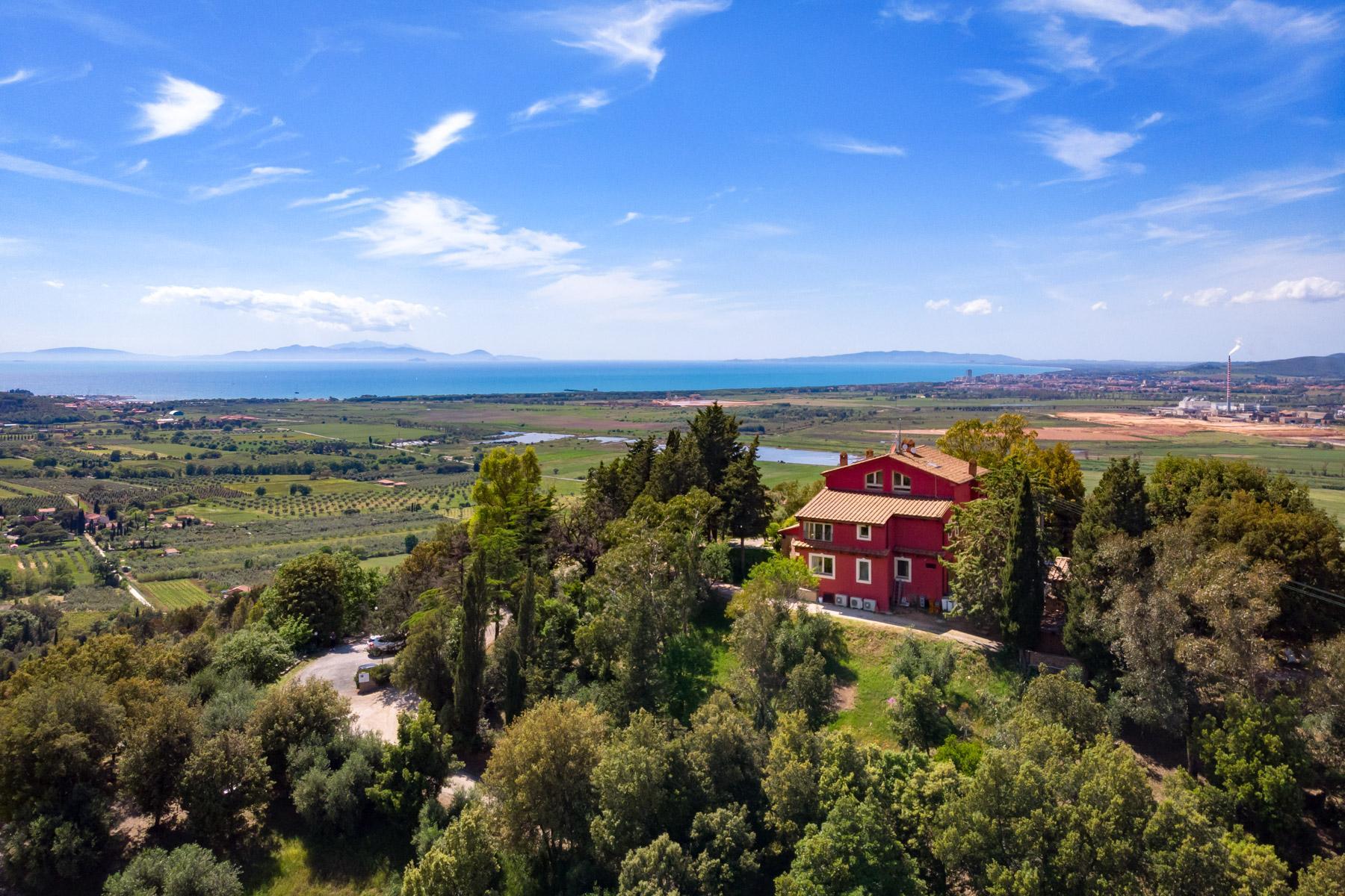 Villa historique avec vue imprenable sur le golfe de Scarlino - 2