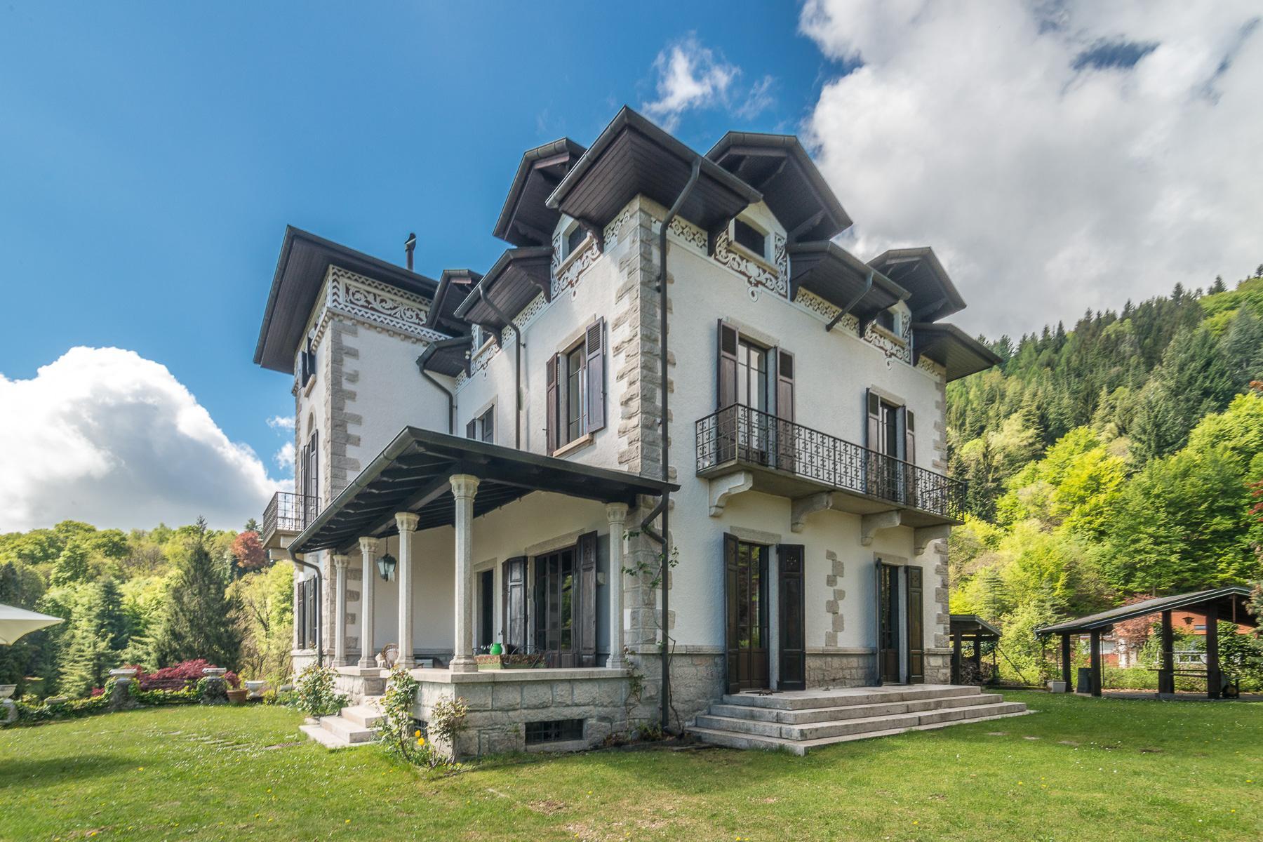 Charmante villa historique sur les collines de Stresa - 7