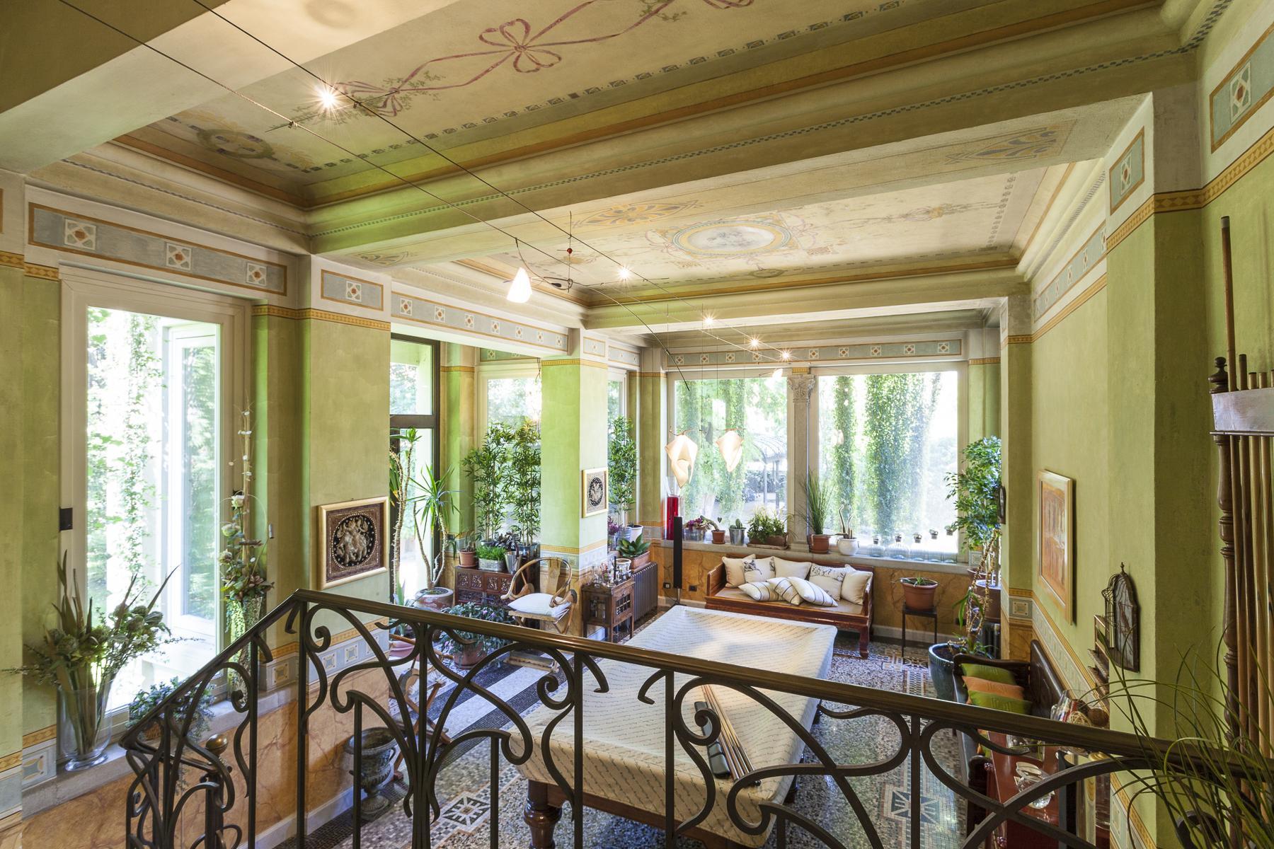 Elegante Villa Liberty con parco privato a Rivoli - 15