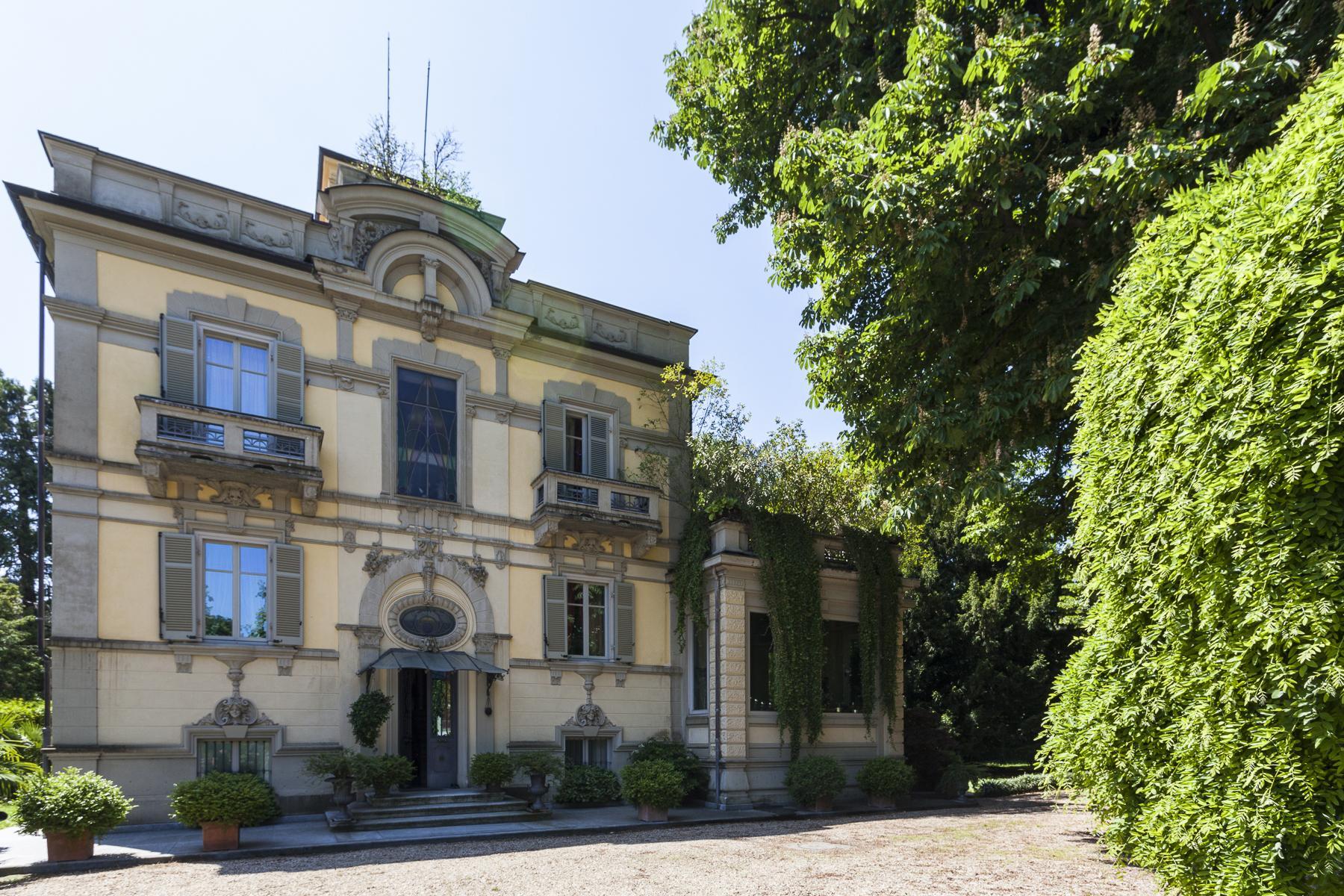 Elegante Villa Liberty con parco privato a Rivoli - 22