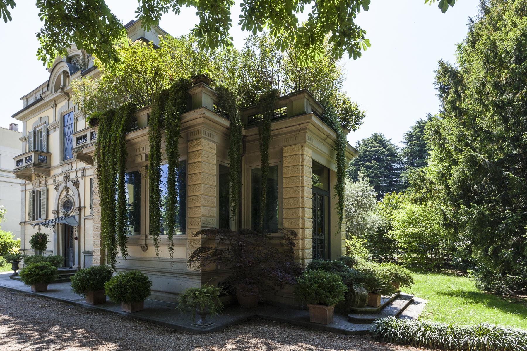 Elegante Villa Liberty con parco privato a Rivoli - 36
