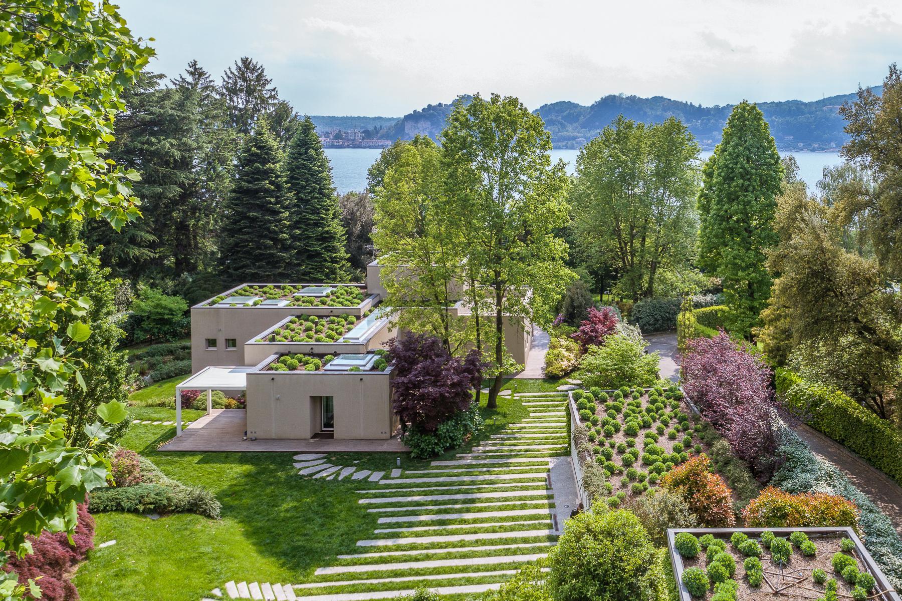 Villa di design eco sostenibile sul Lago Maggiore - 2